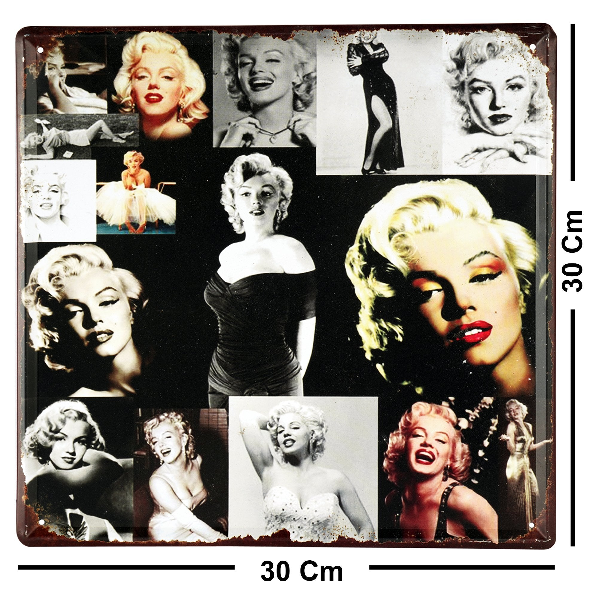 Marilyn Monroe Portrait Wall Plaque