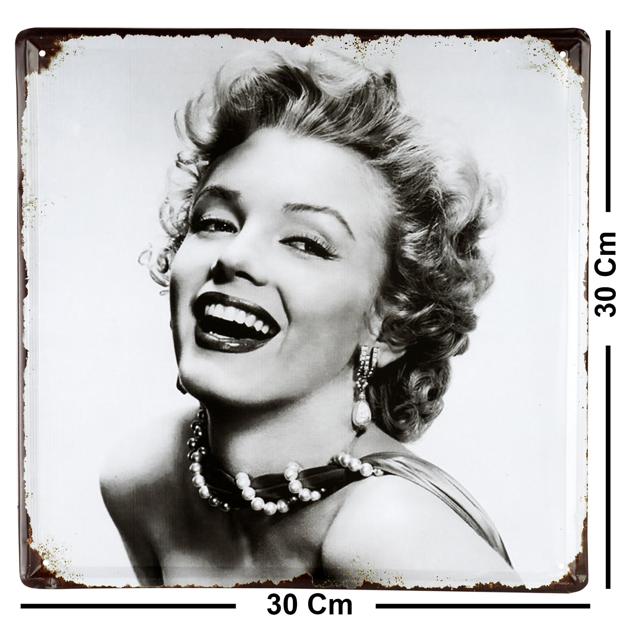 Marilyn Monroe Wall Plaque
