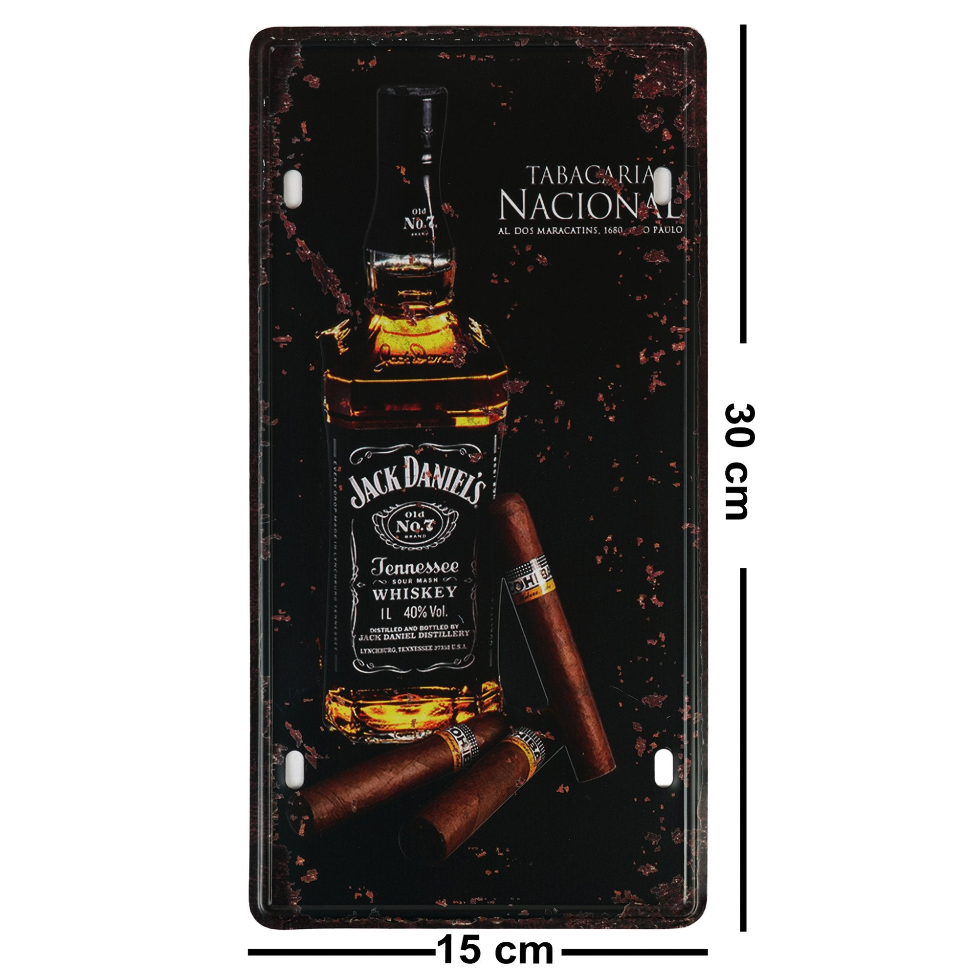 Jack Daniel's Wall Plaque