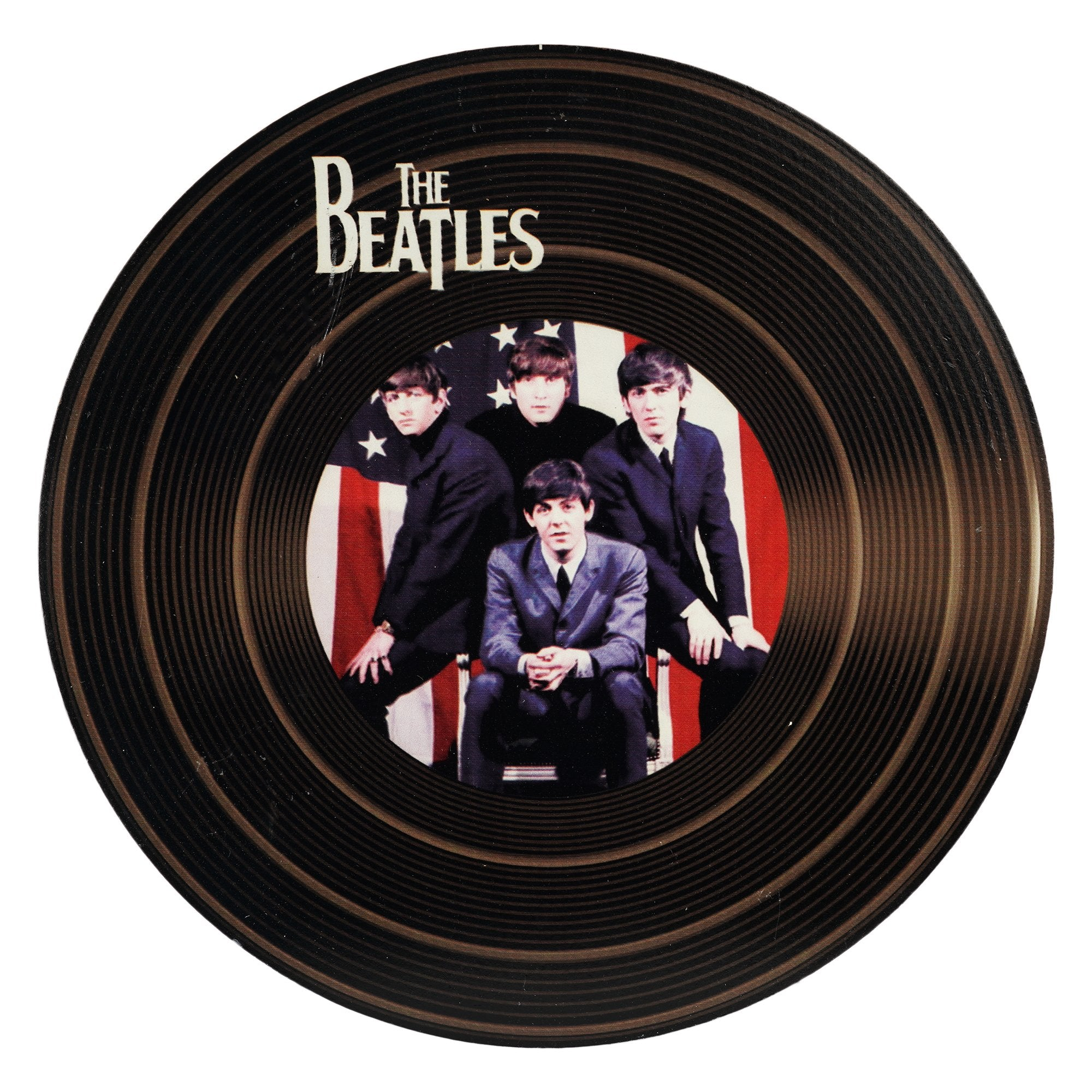 The Beatles Record Wall Disc - Teak Tale