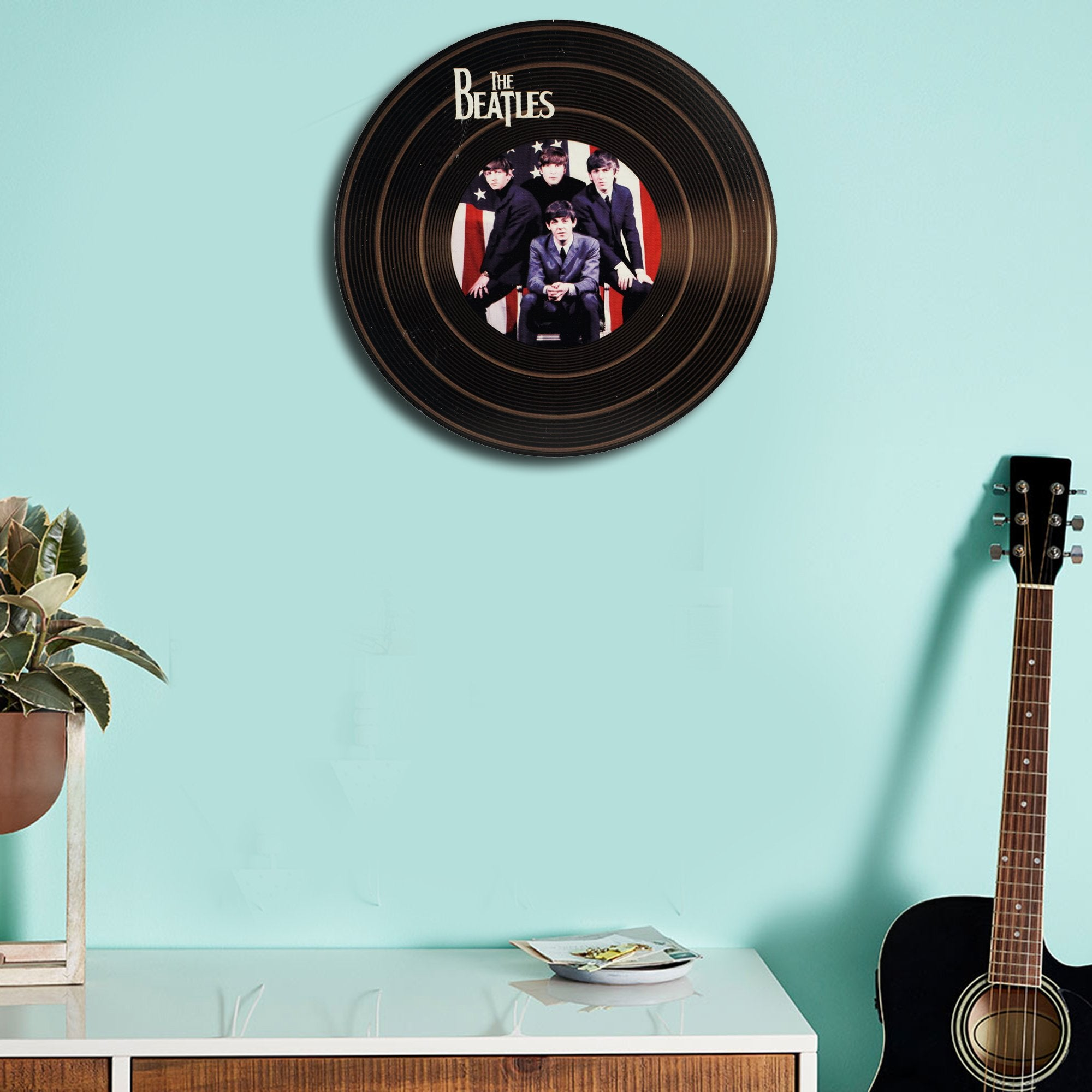The Beatles Record Wall Disc