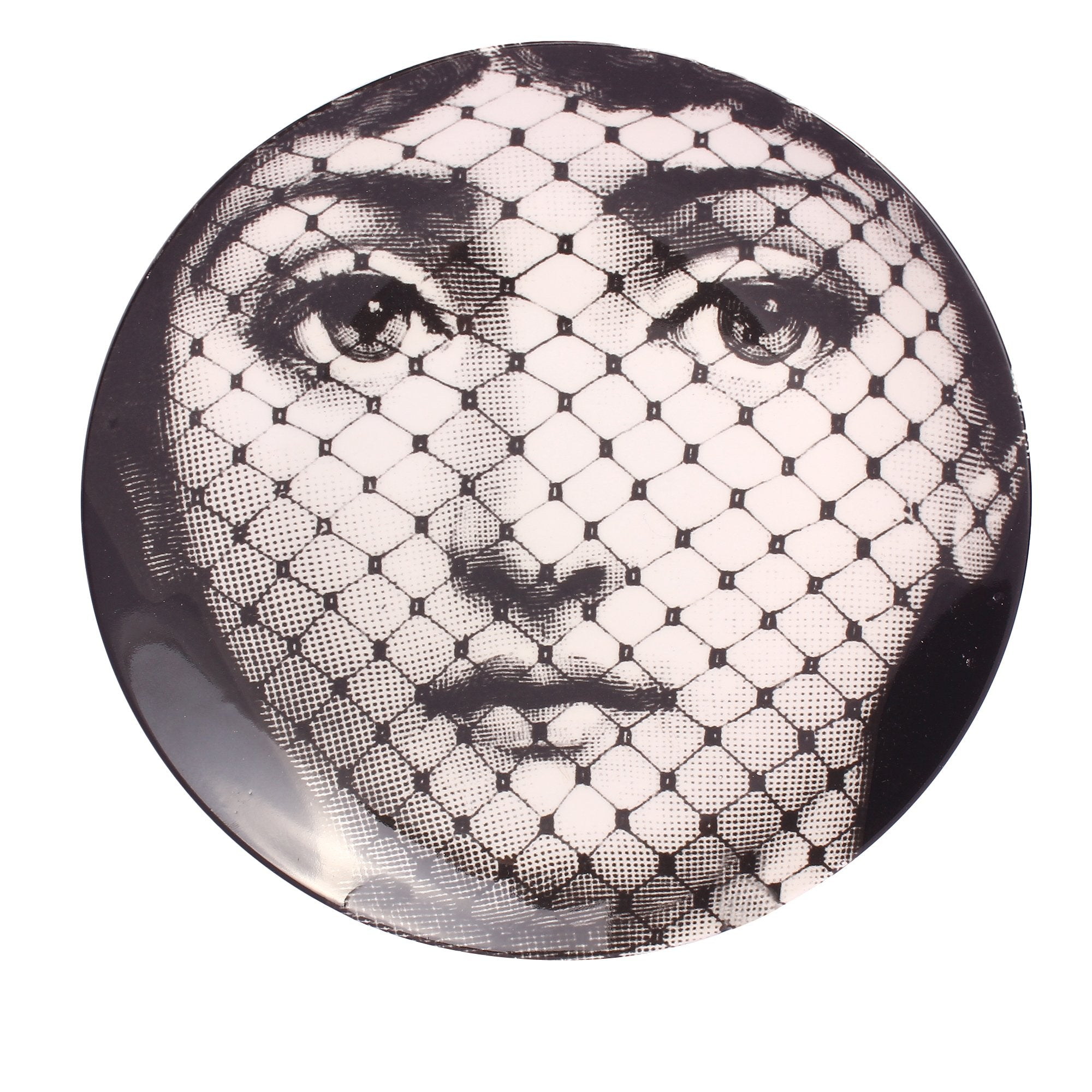 "Plate 8"" Girl With Net"