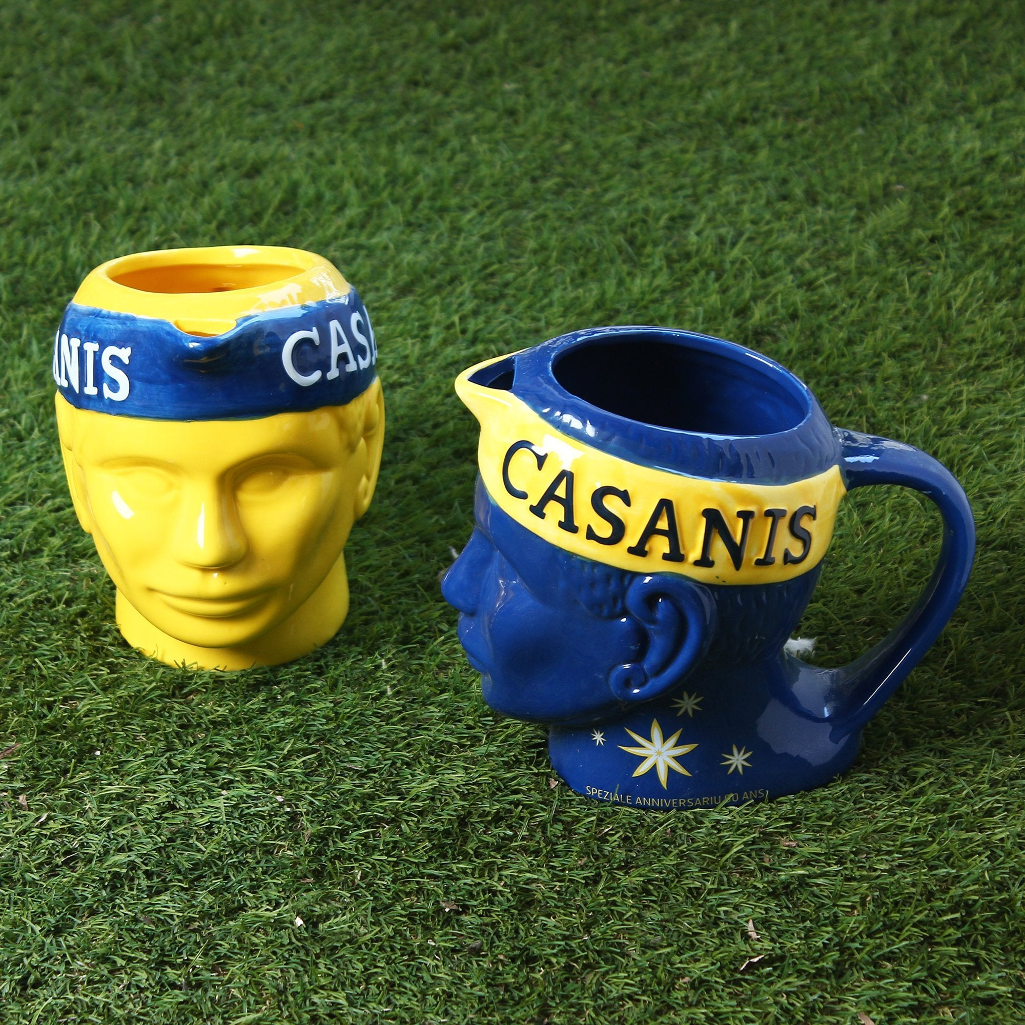 Jug & Planter With Casanis Headband - Yellow