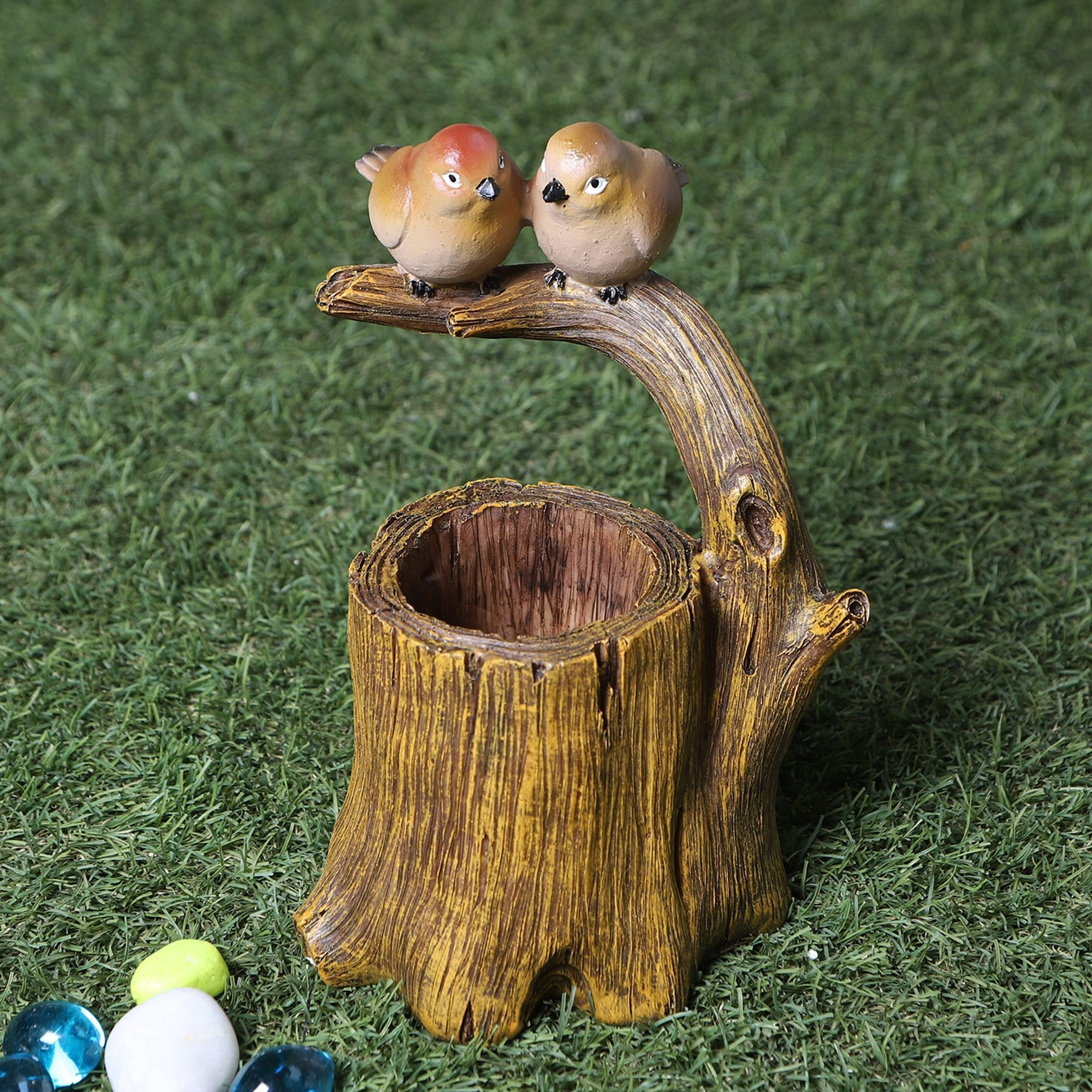 Birds Nest Pen Stand