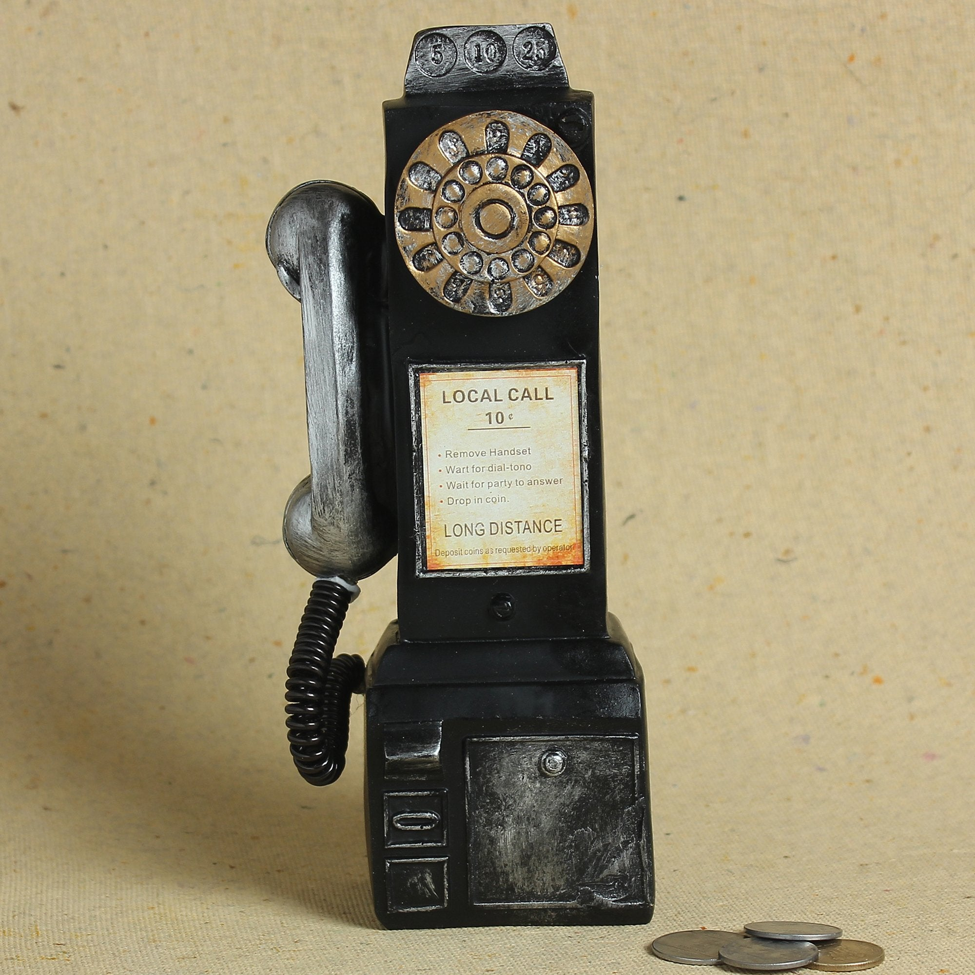 Tall Dialer Telephone