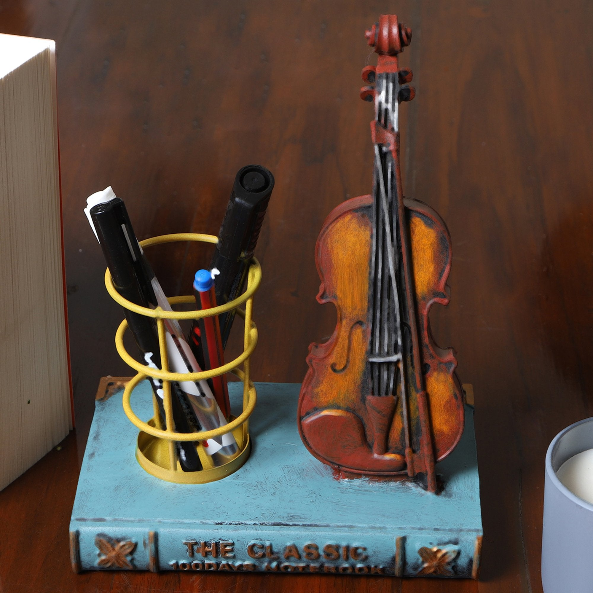 Light Blue book with Guitar