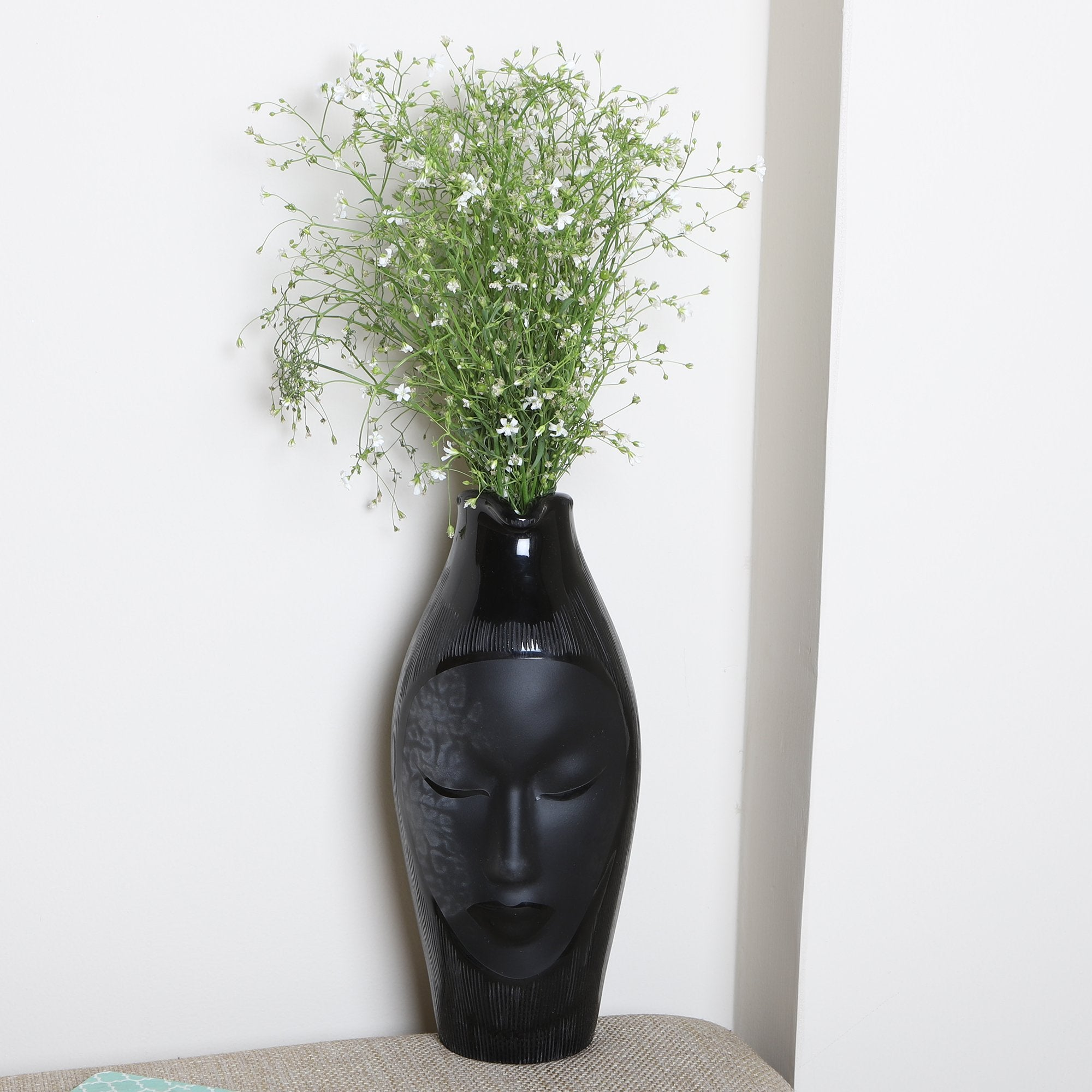 Flower Pot With Face