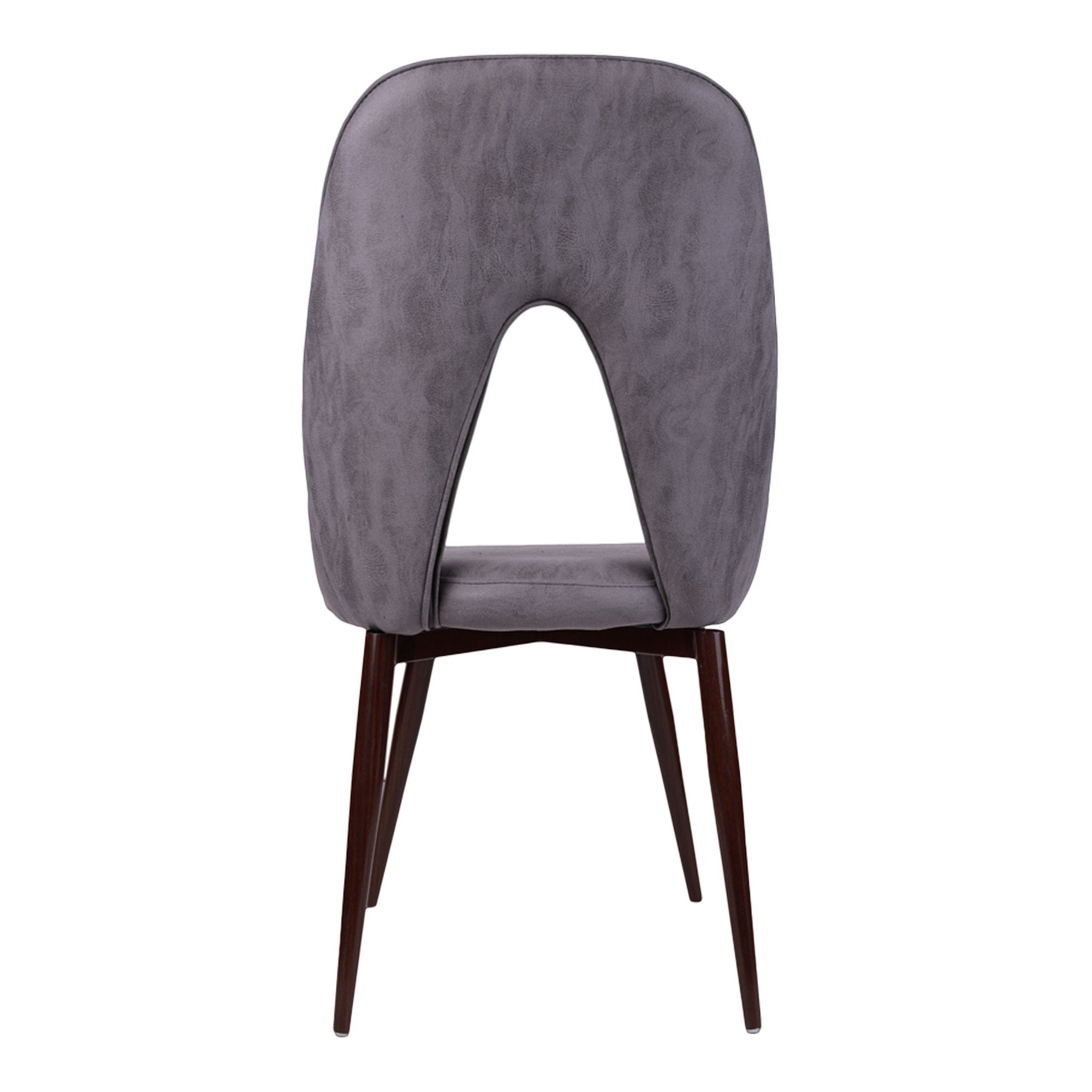 Hale Stacking Chair in Grey Color- Set of 2 - Teak Tale