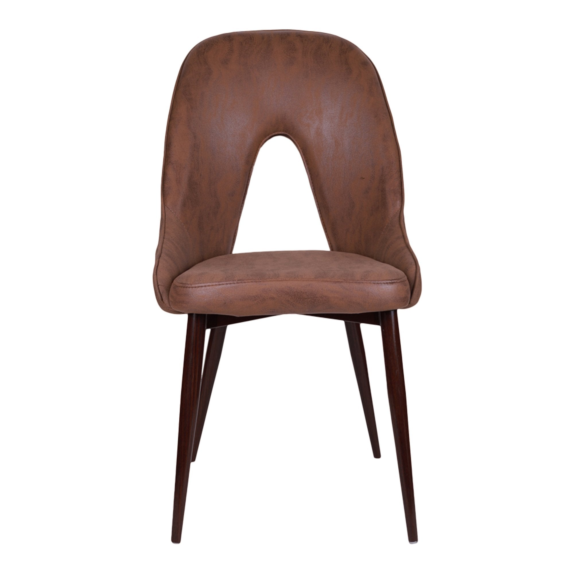 Light Brown Hale Stacking Chair- Set of 2 - Teak Tale