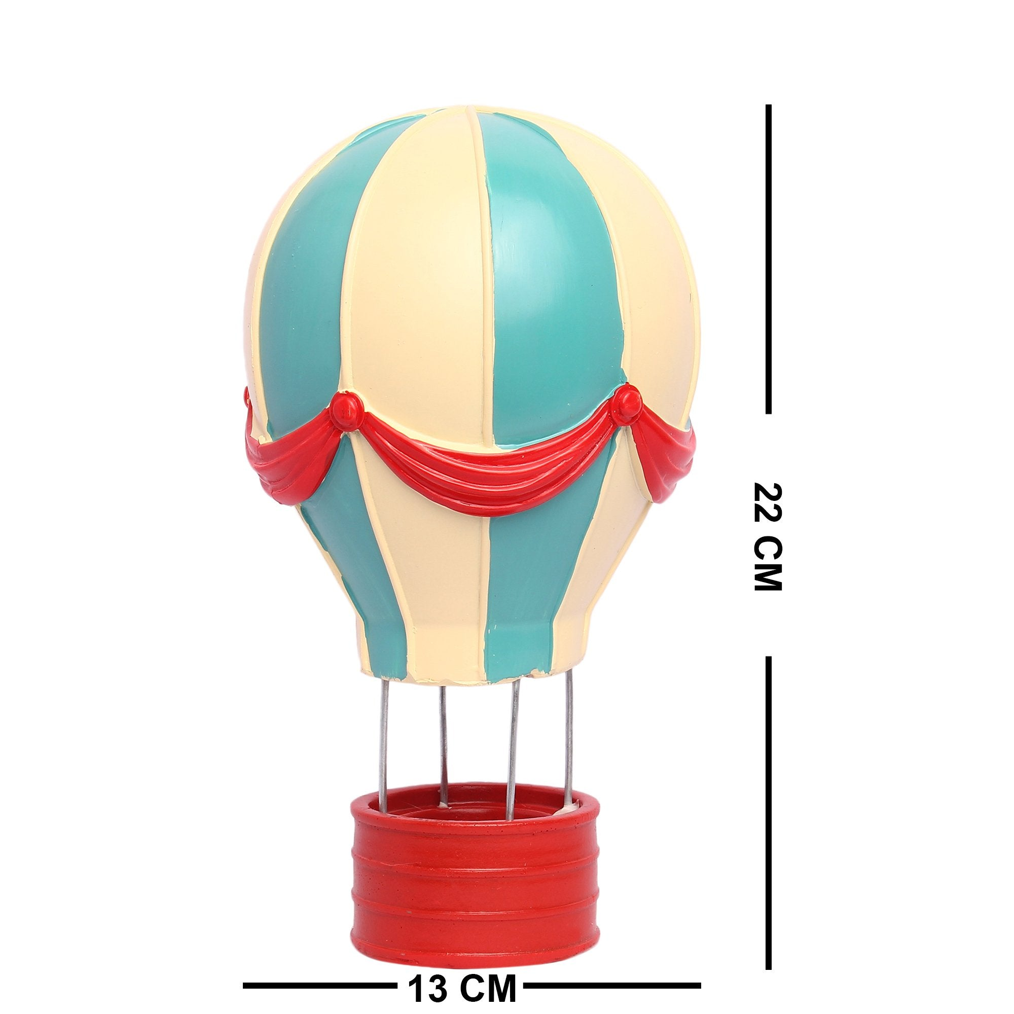 Hot Air Balloon - Teak Tale