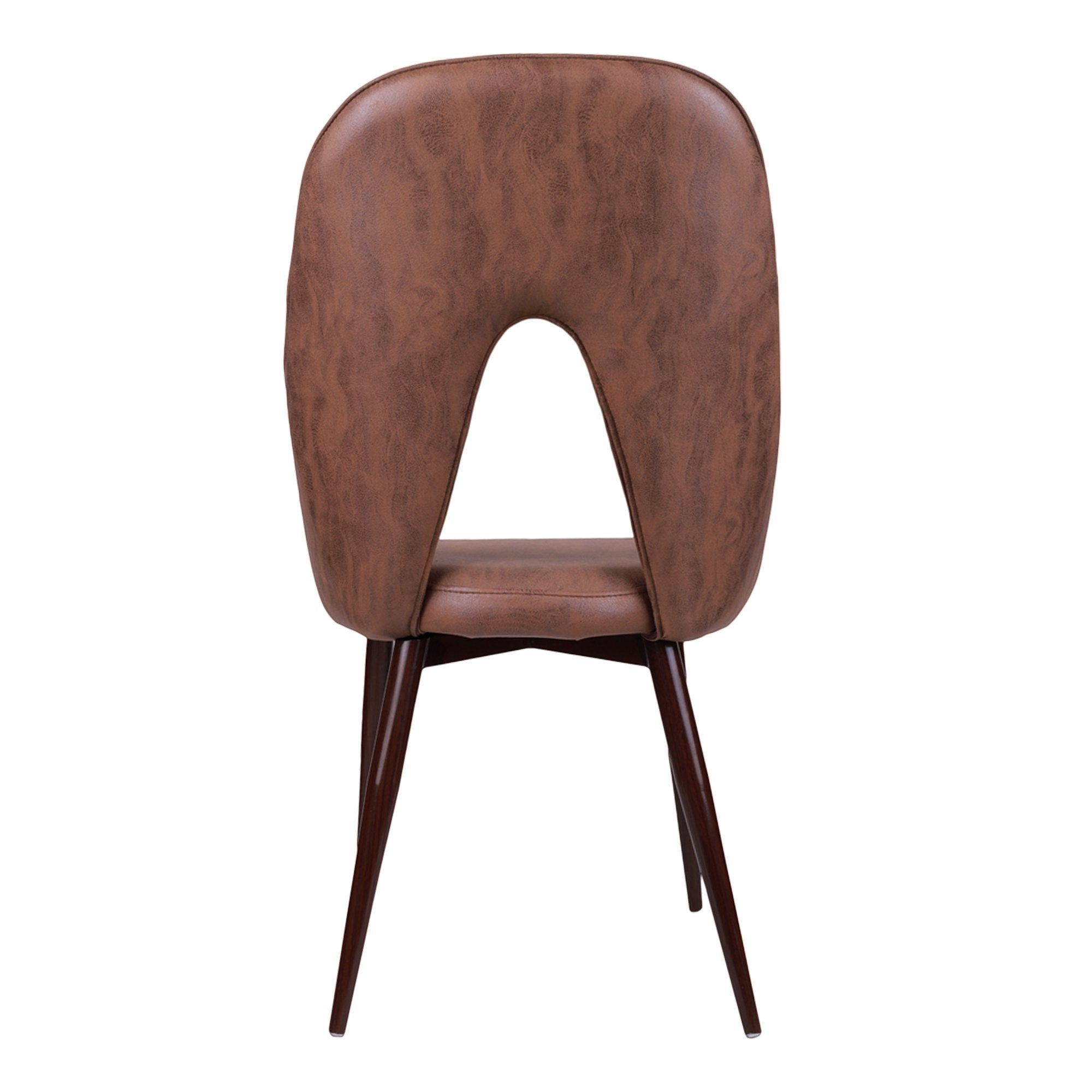 Light Brown Hale Stacking Chair- Set of 2