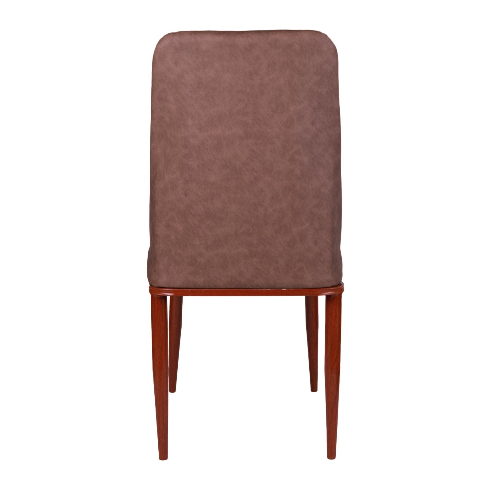 Armless Chair in Light Brown Color