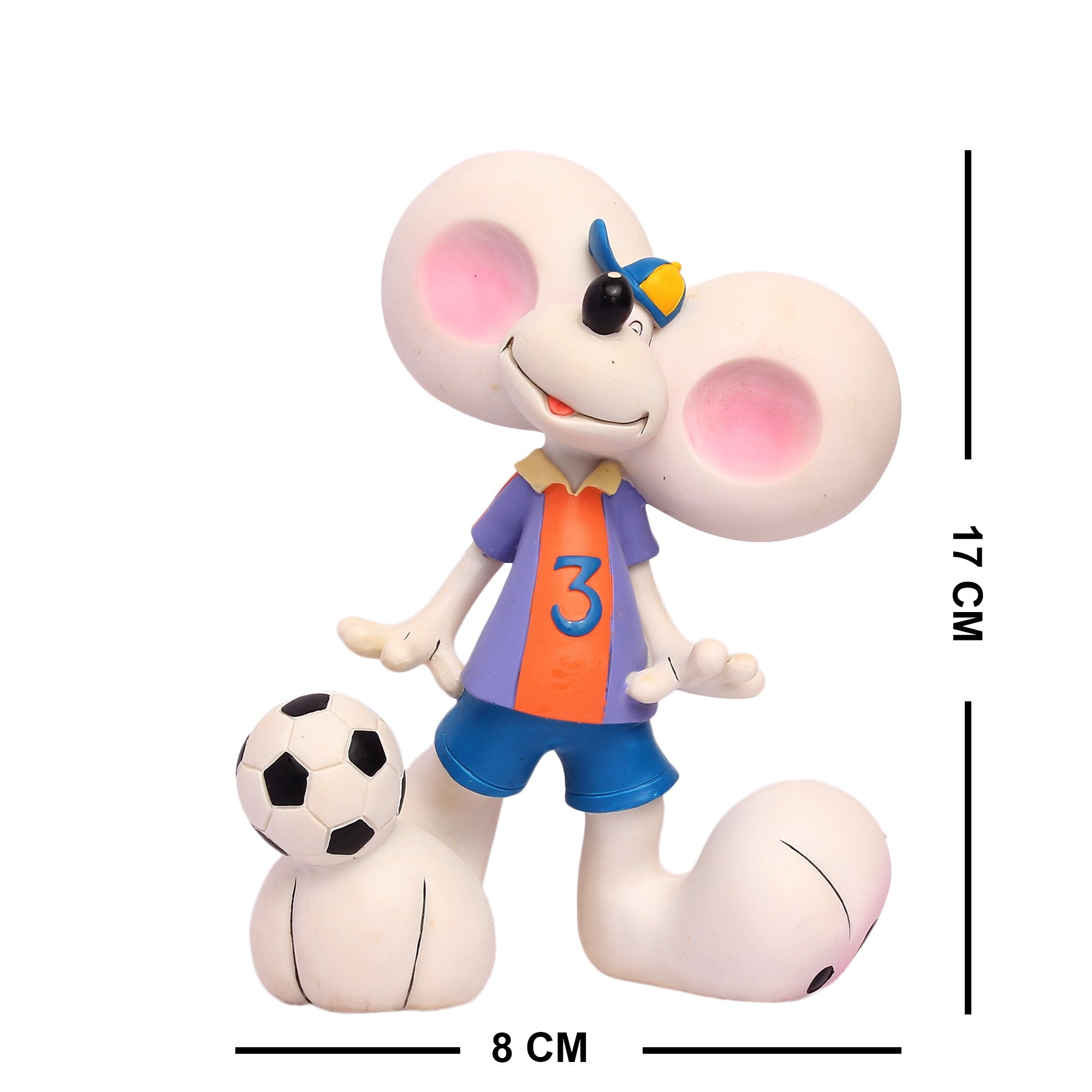 Goofy With Large Ears & Football