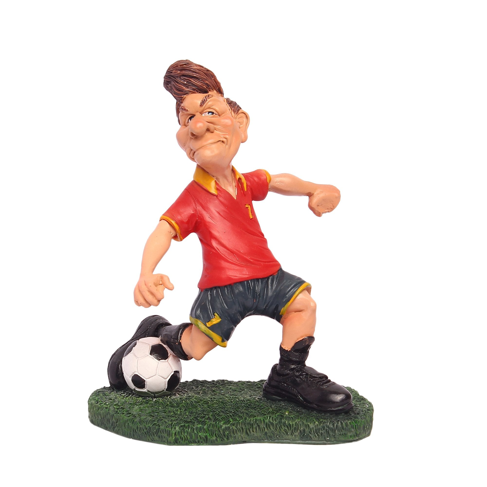 Footballer Red & Green
