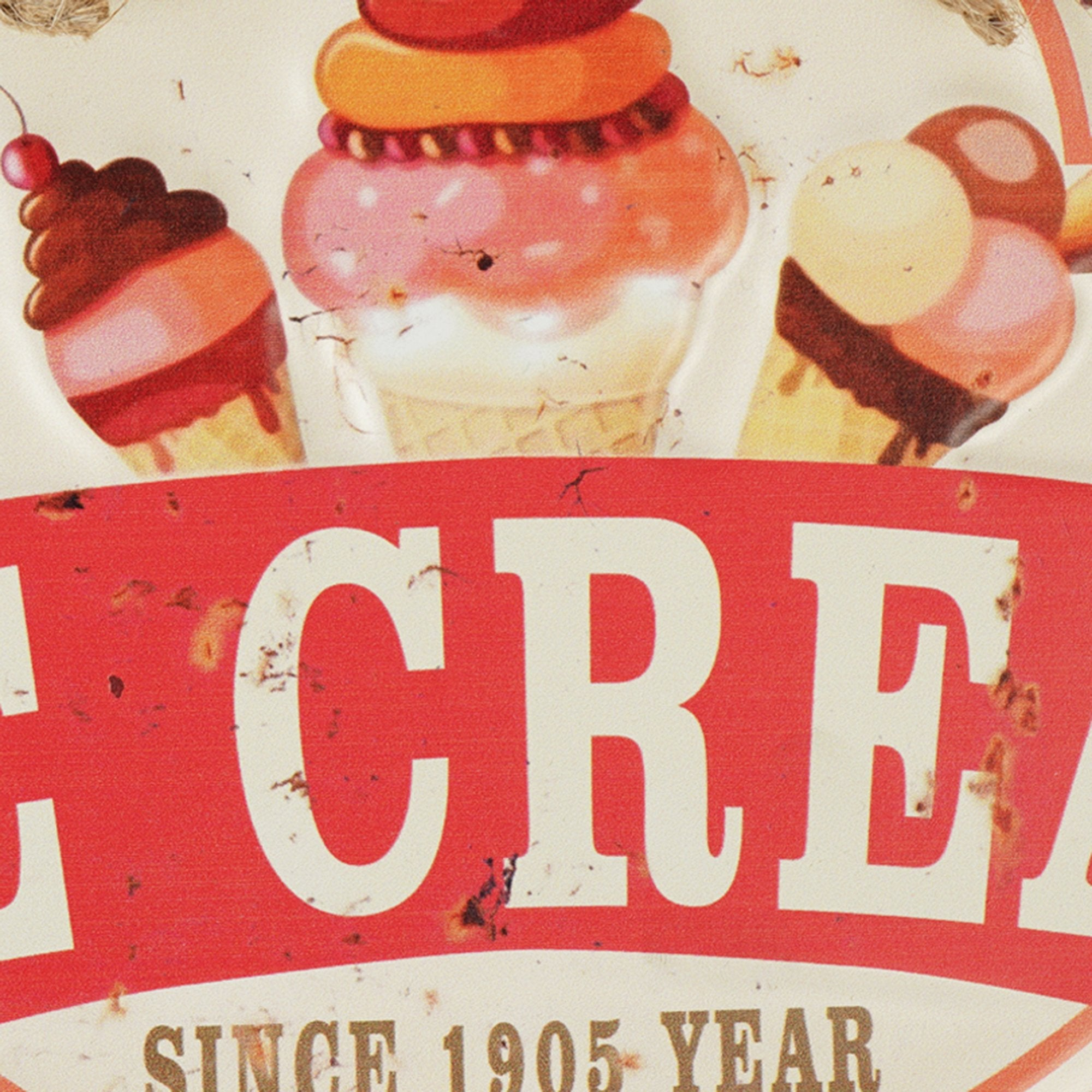 Ice Cream Wall Sign - Teak Tale
