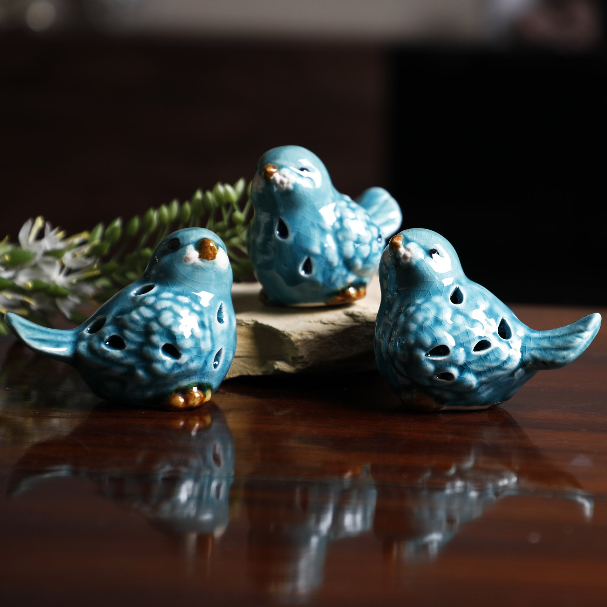 Sea Green Birds