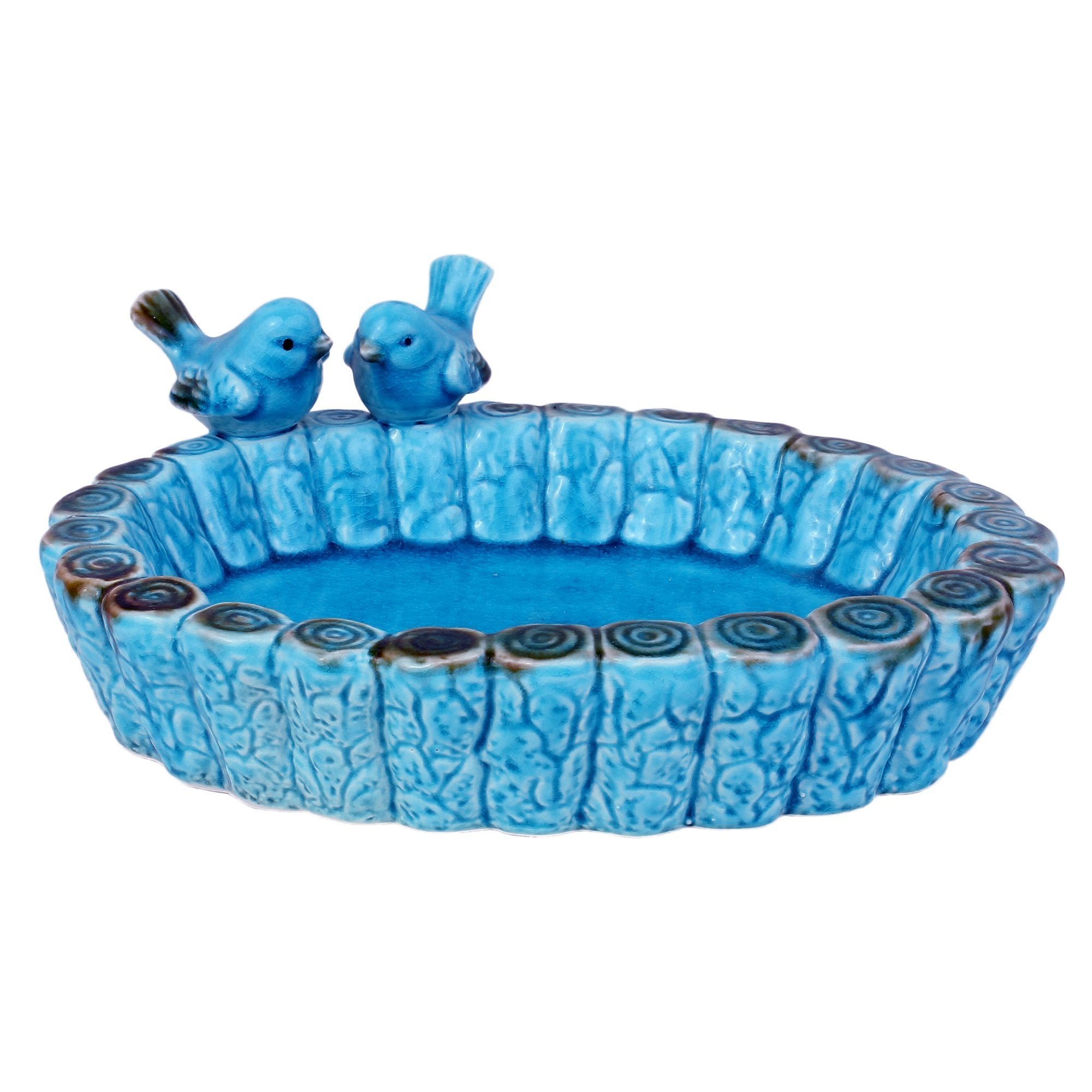 Birdies Ceramic Water Tray