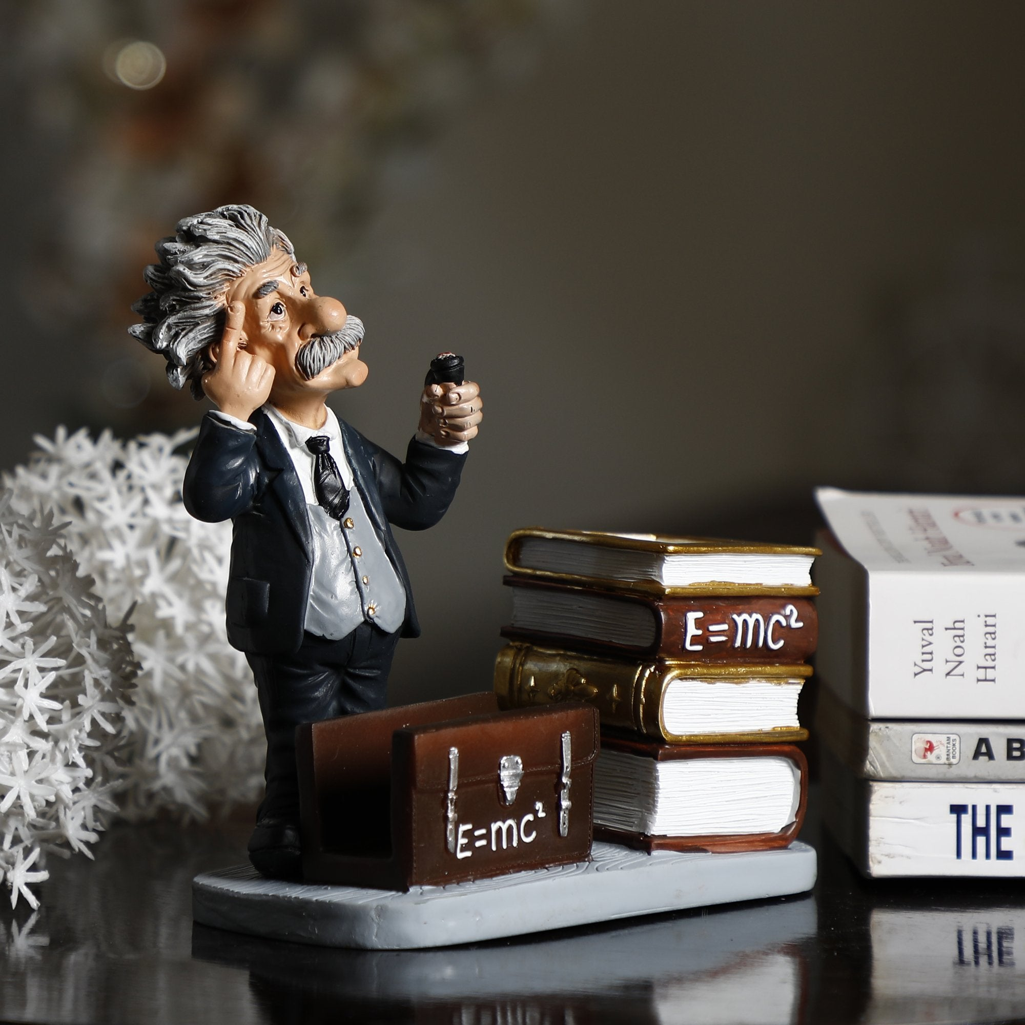 Einstein With Pen Stand