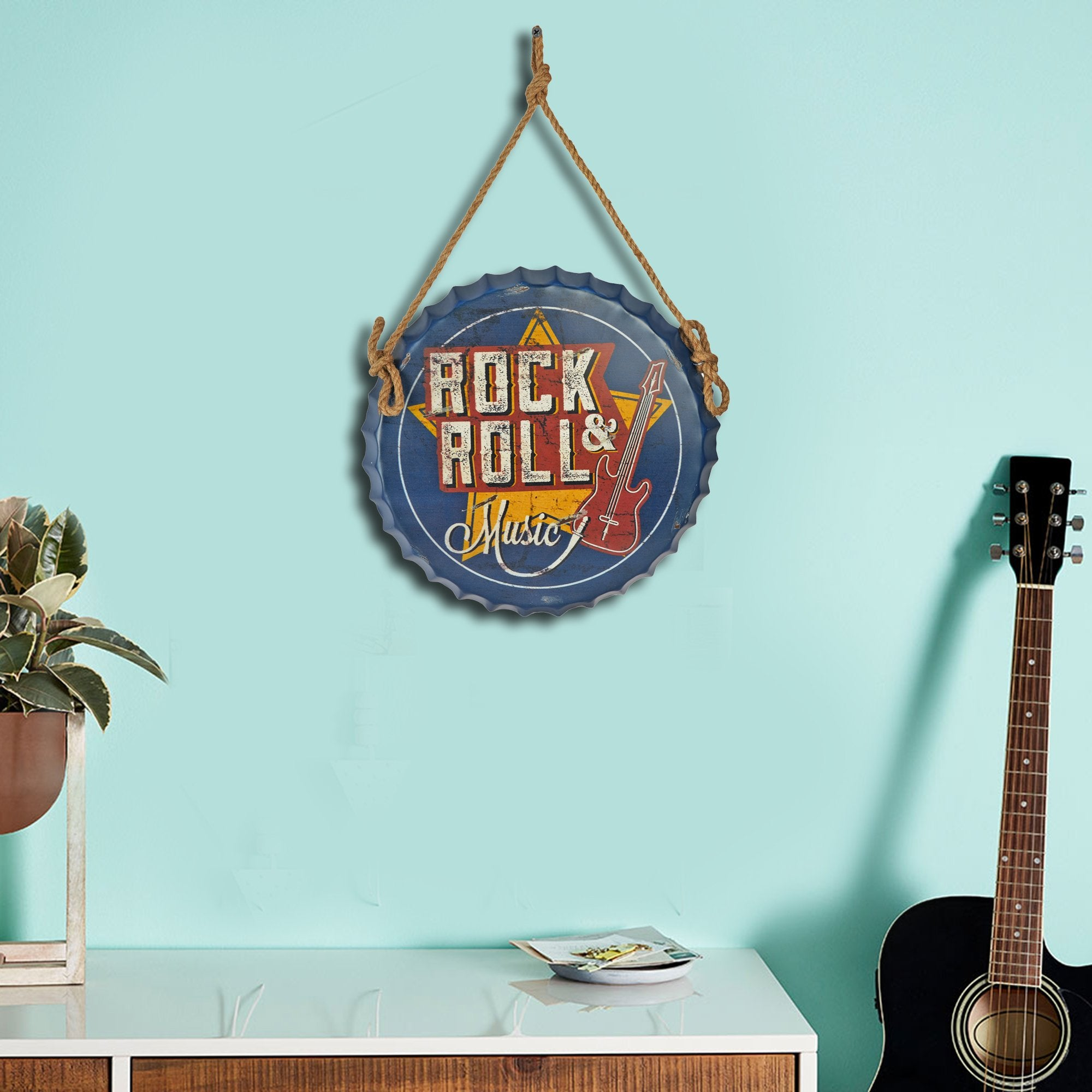 Rock 'n' Roll Wall Cap - Teak Tale
