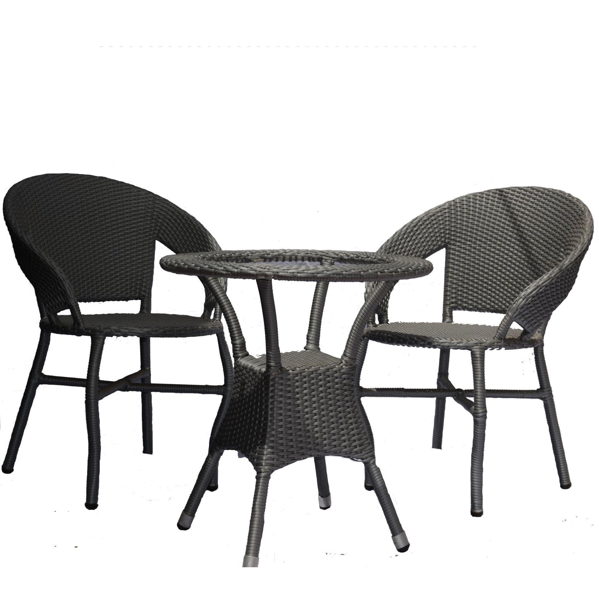 Contemporary Style Outdoor Furniture Set - Teak Tale