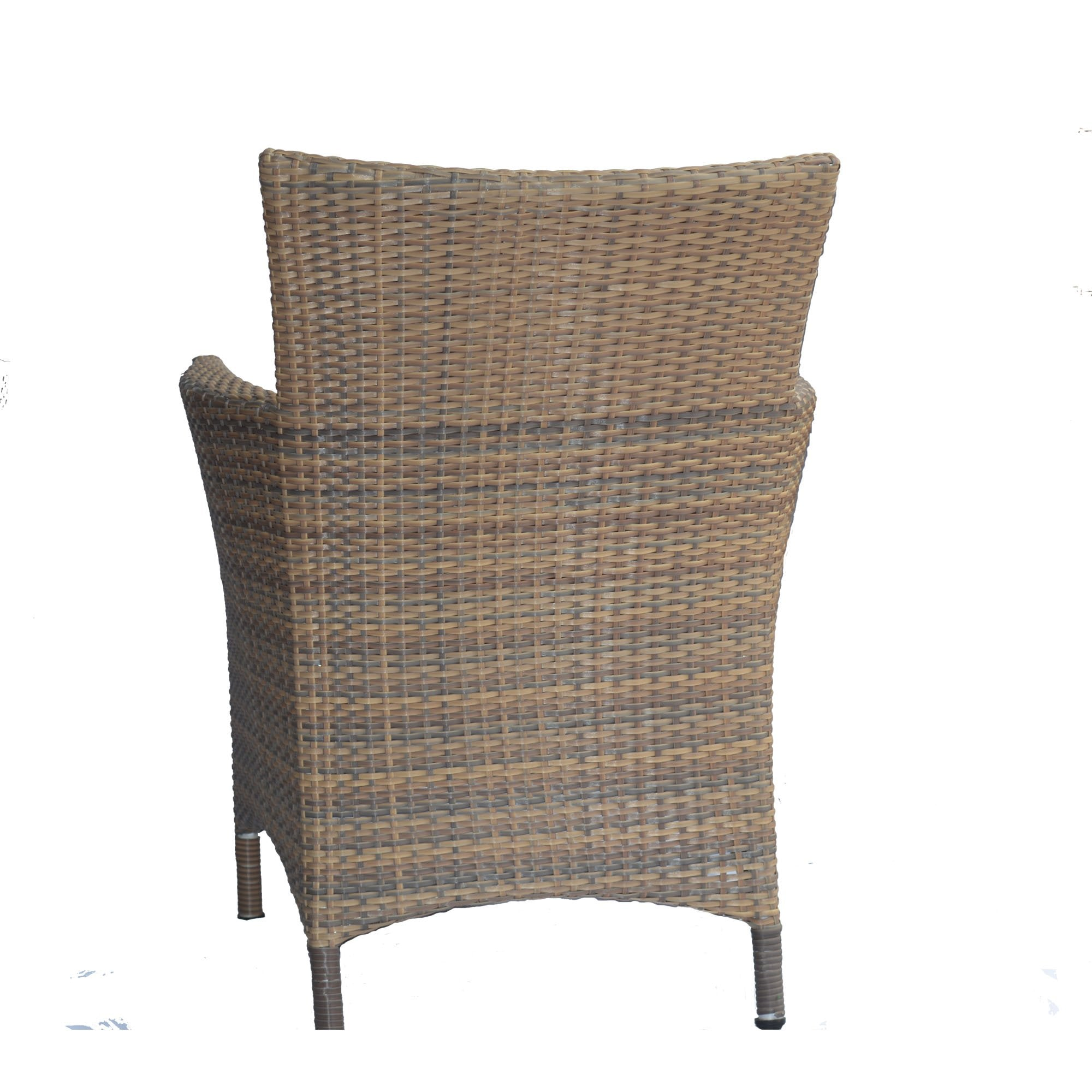 Multi-colored Natural Wicker Outdoor Furniture