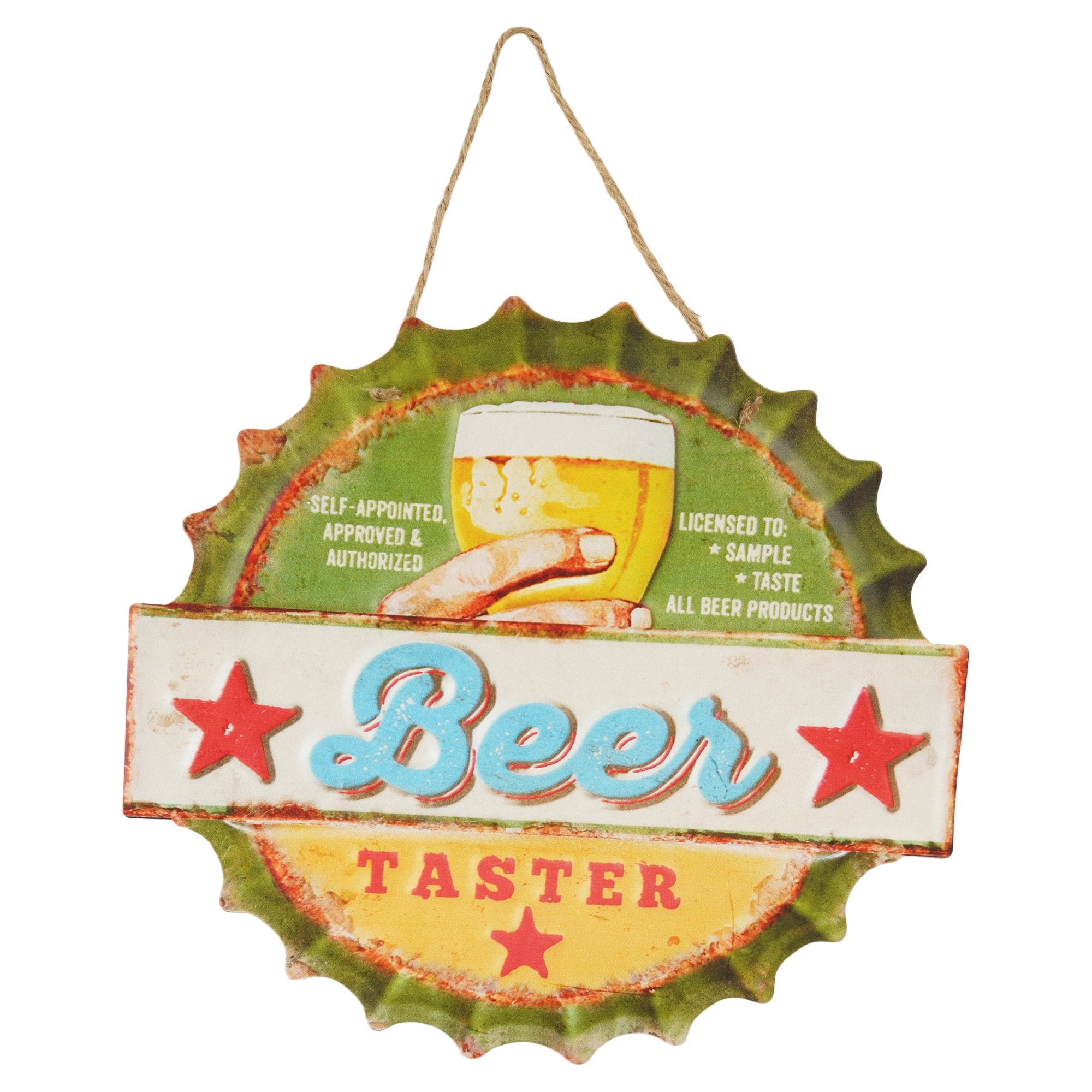 Beer Taster Wall Plaque - Teak Tale