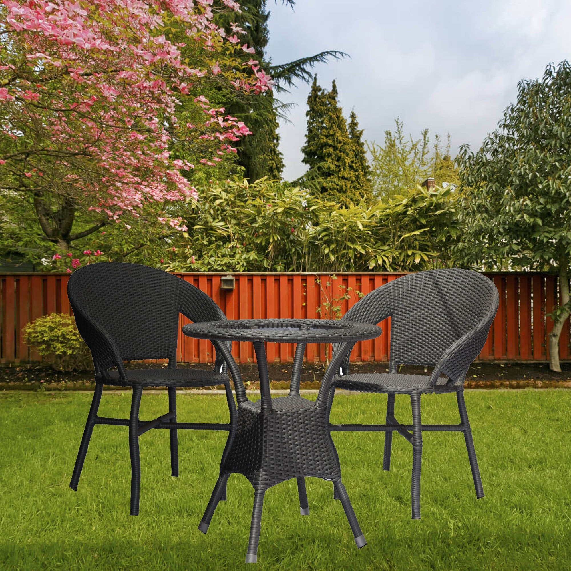 Contemporary Style Outdoor Furniture Set
