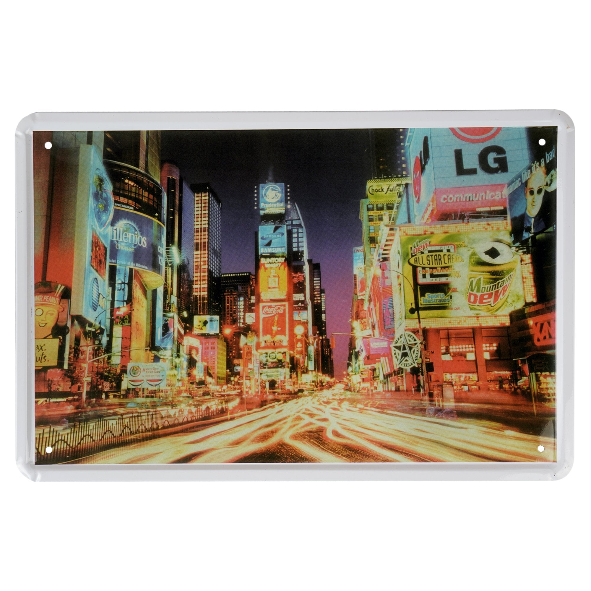 City Lights Wall Plaque