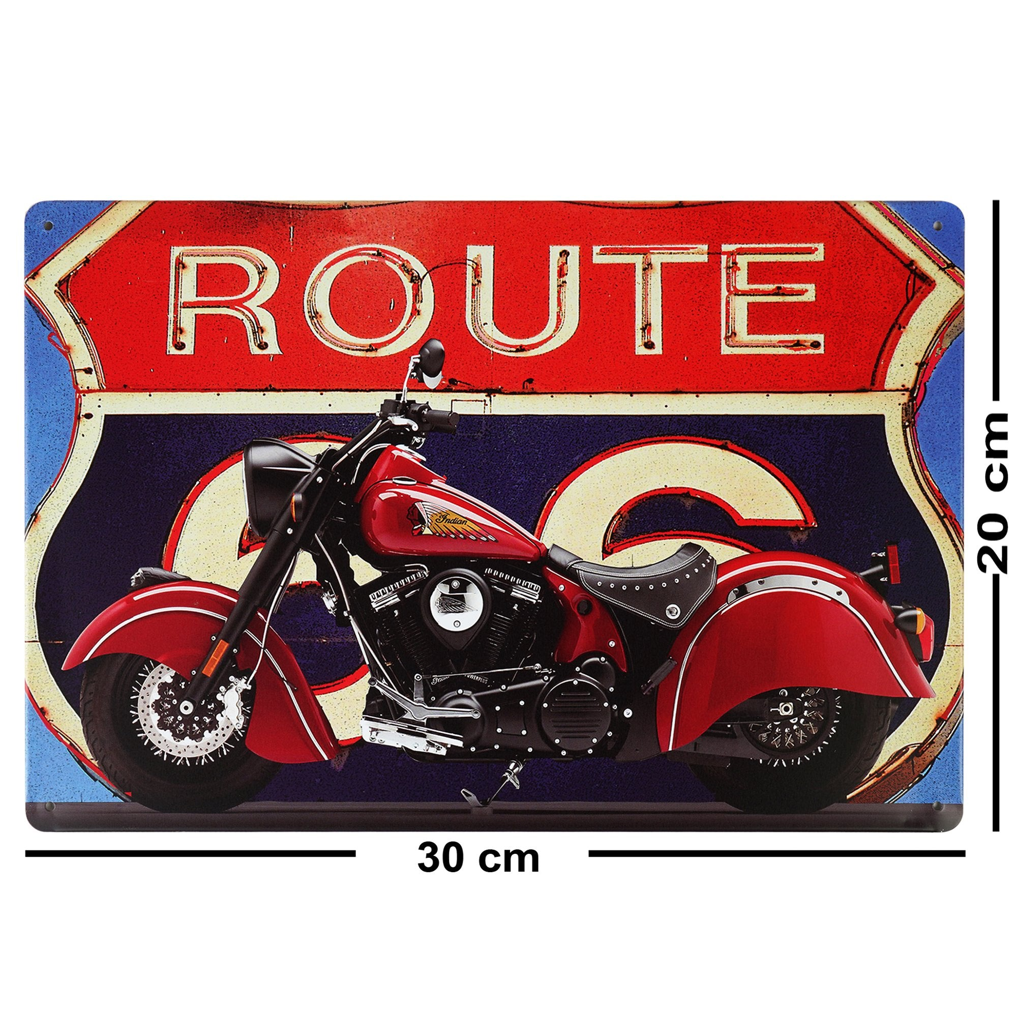U.S. Route 66 Wall Plaque