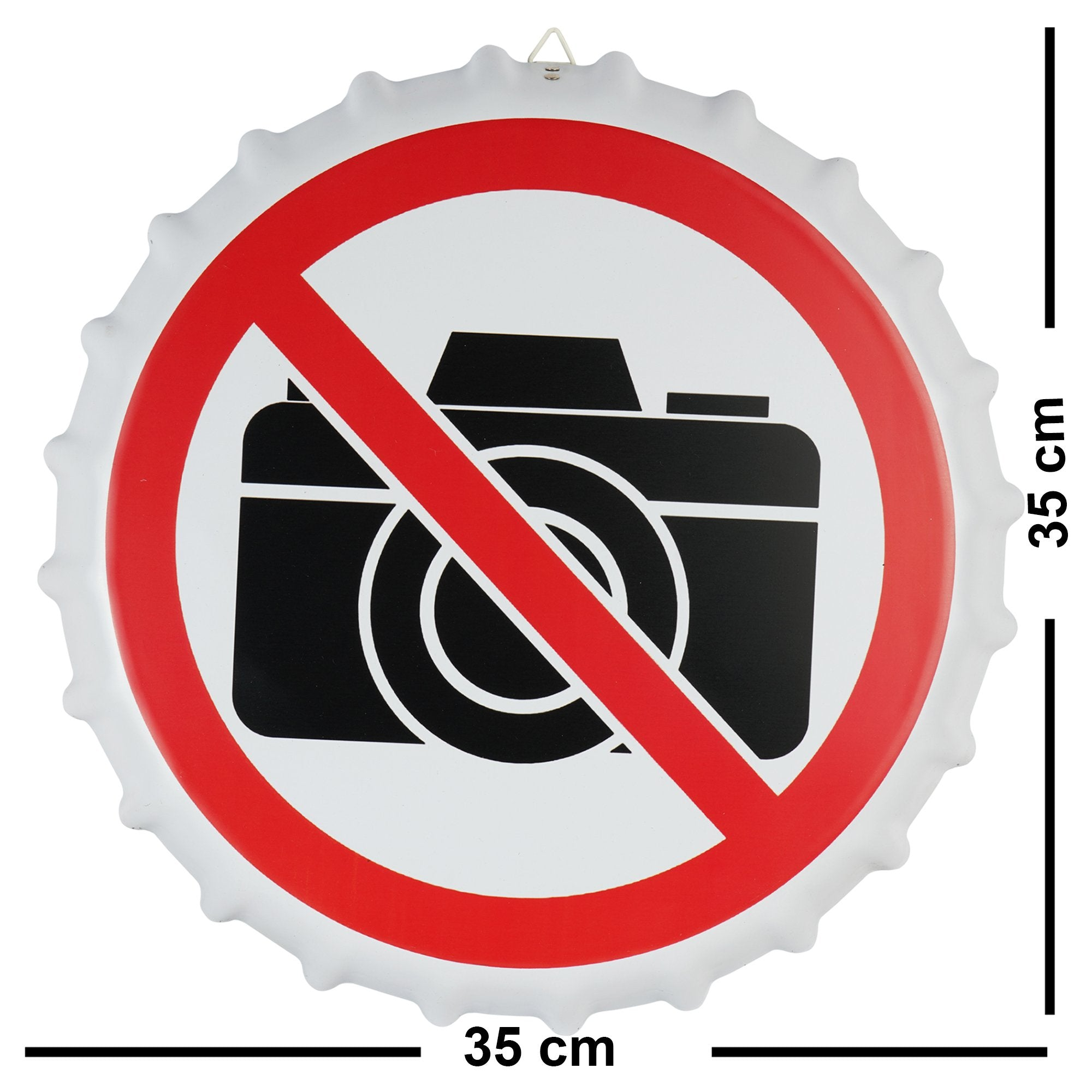 No Photography Sign - Teak Tale