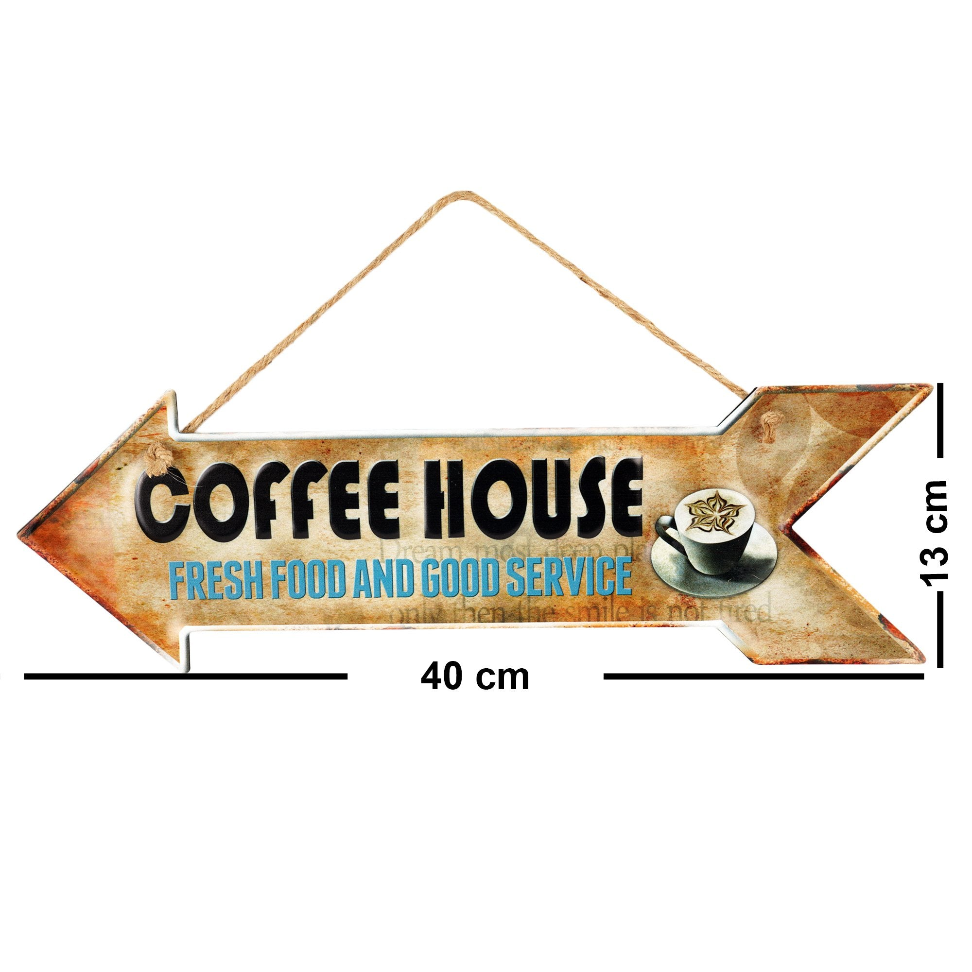 Coffee House Wall Plaque