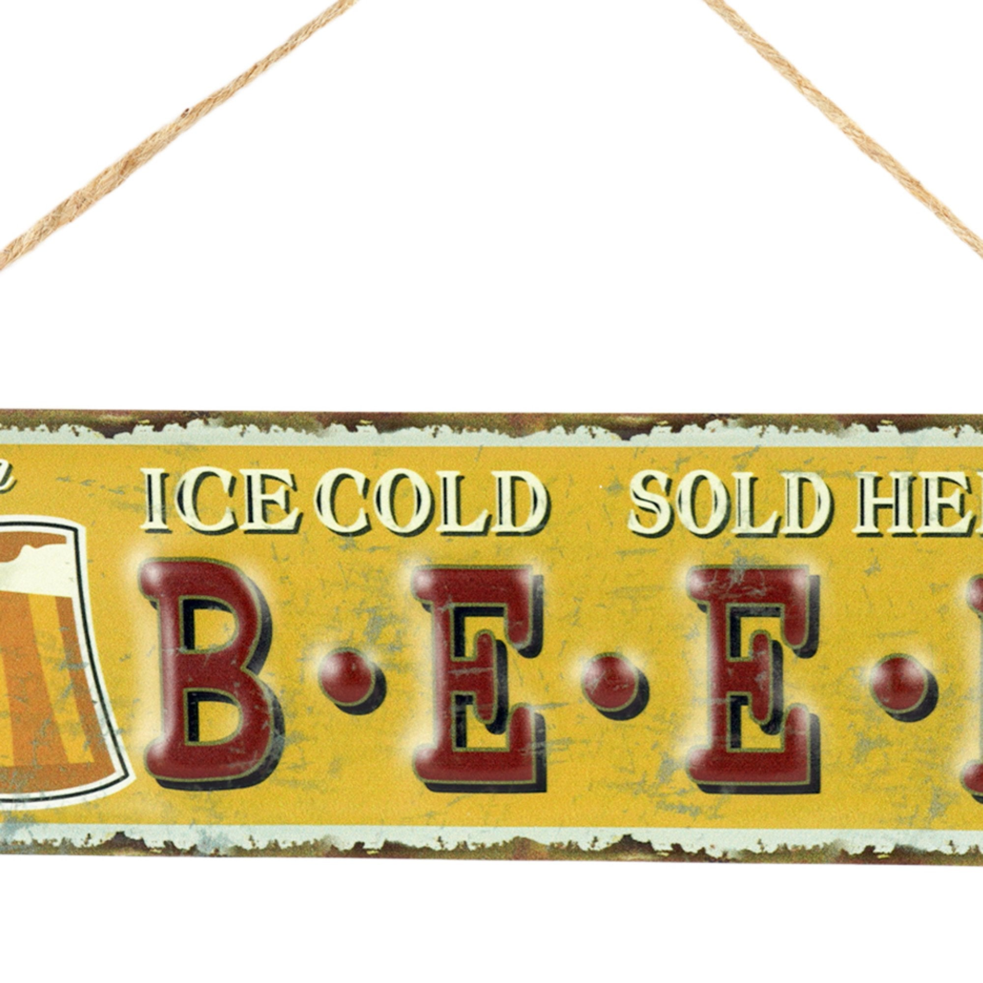 Beer Wall Hanging