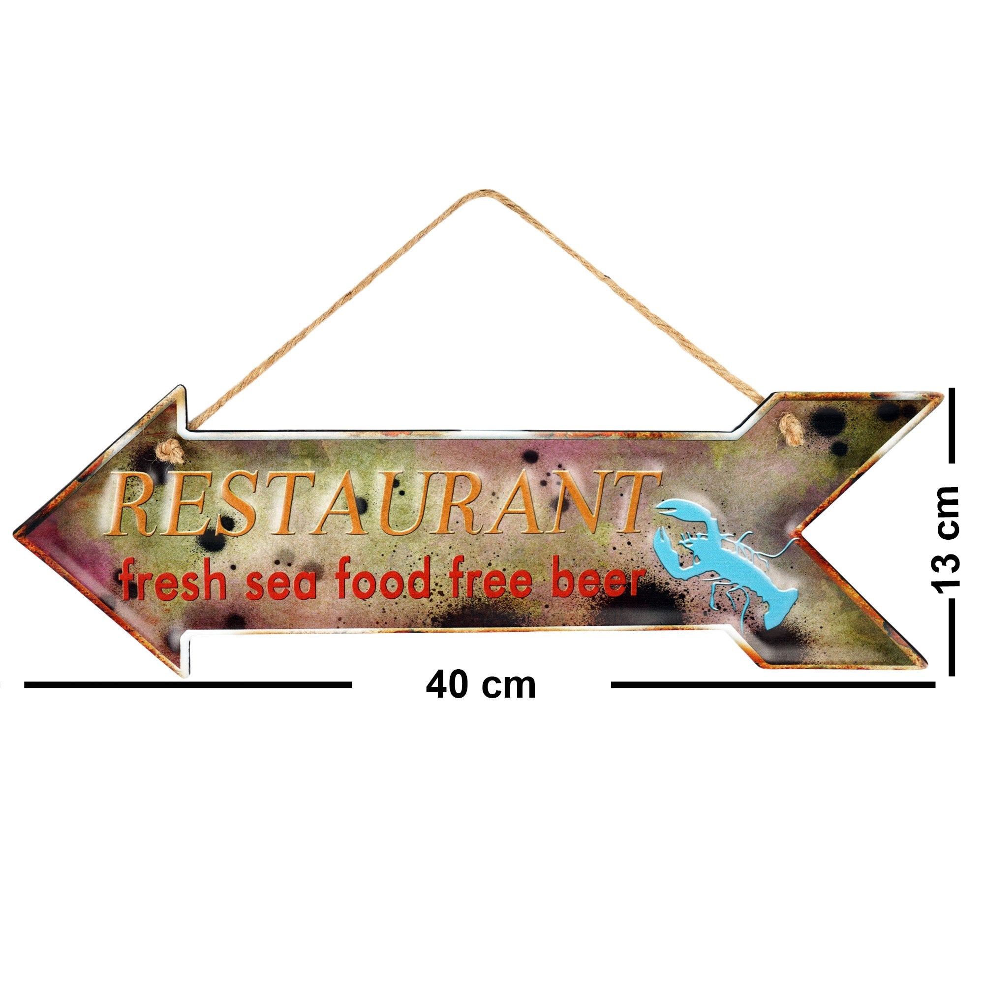 Restaurant Sign - Teak Tale