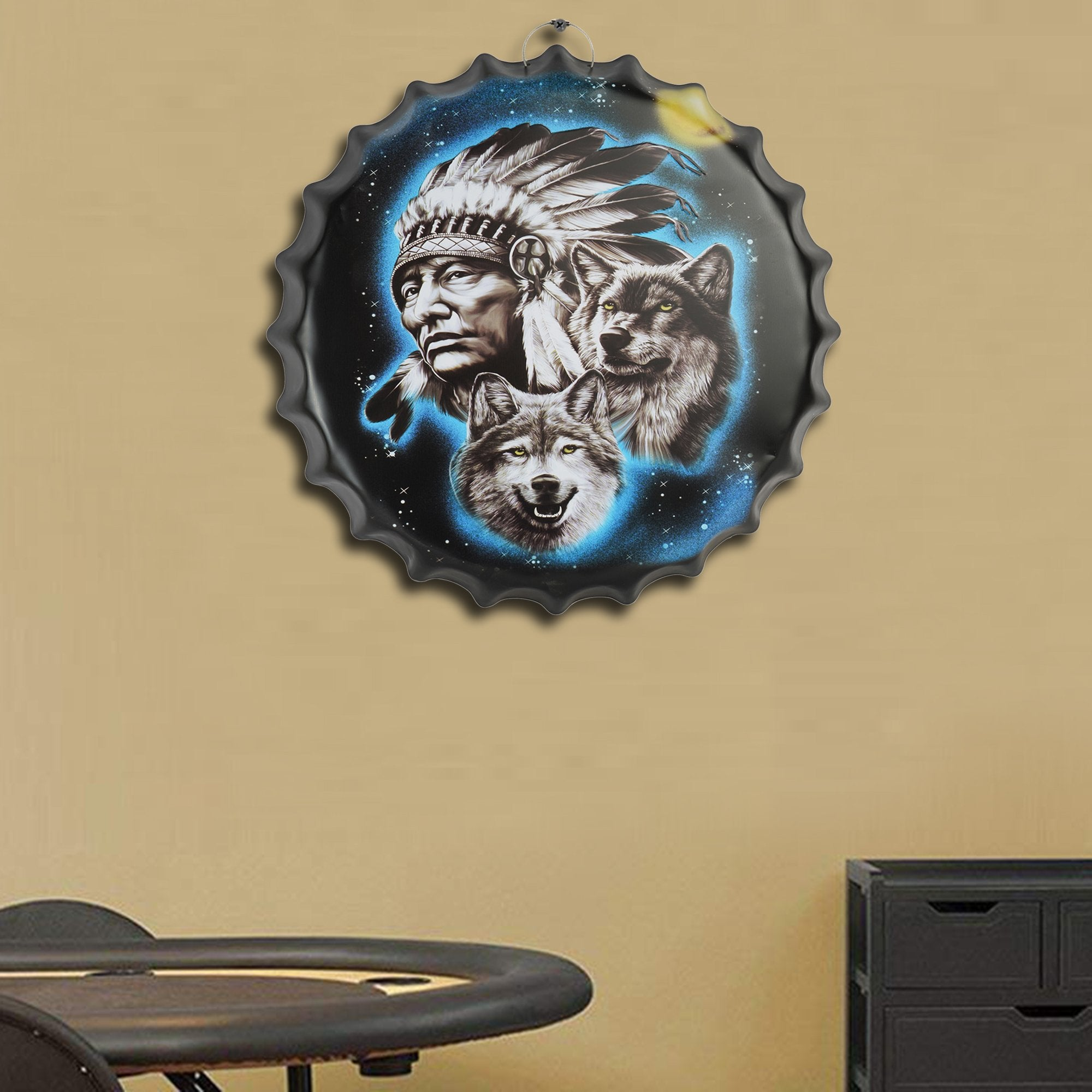 Native American Wall Cap - Teak Tale