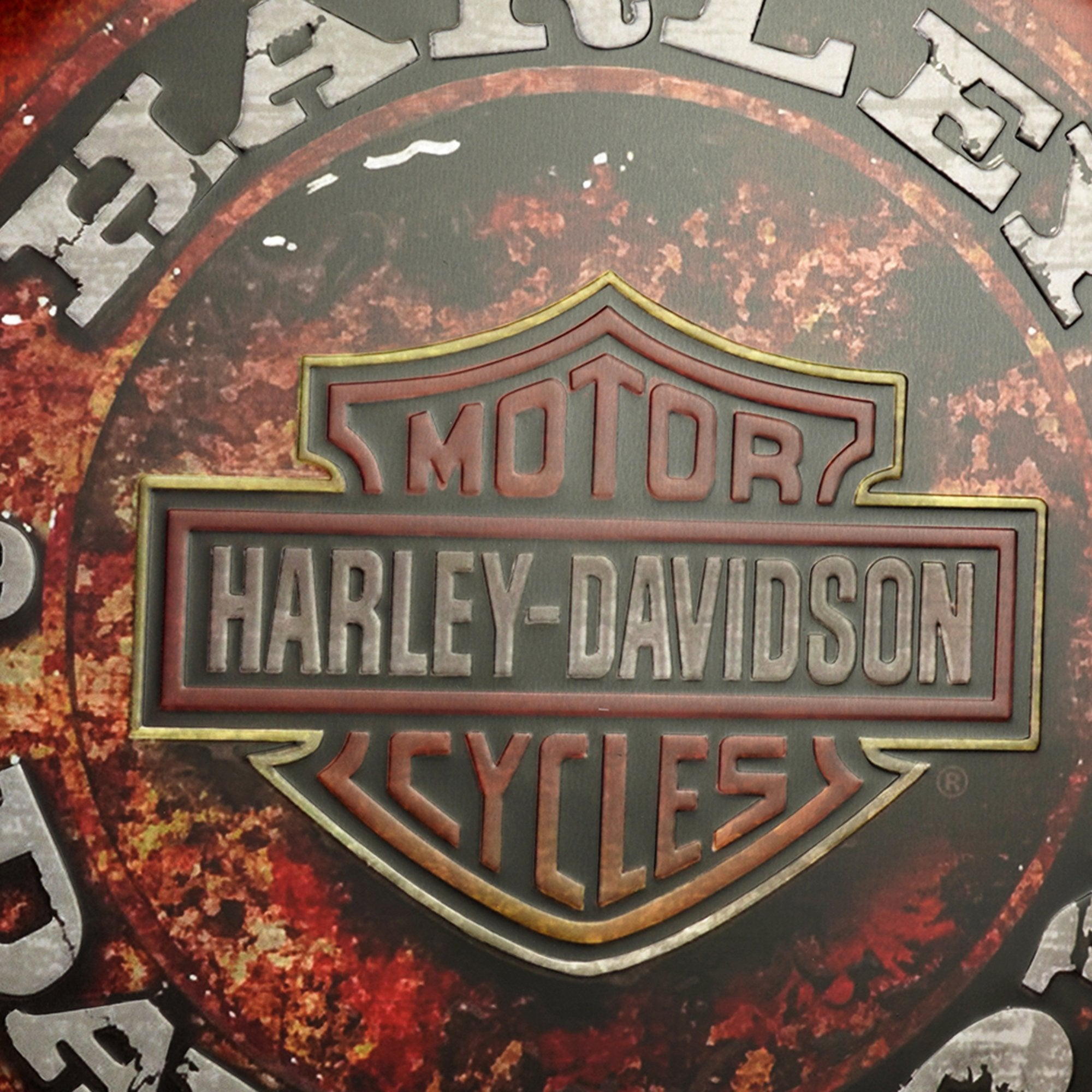 Harley Davidson Wall Cap from TeakTale Home Decors