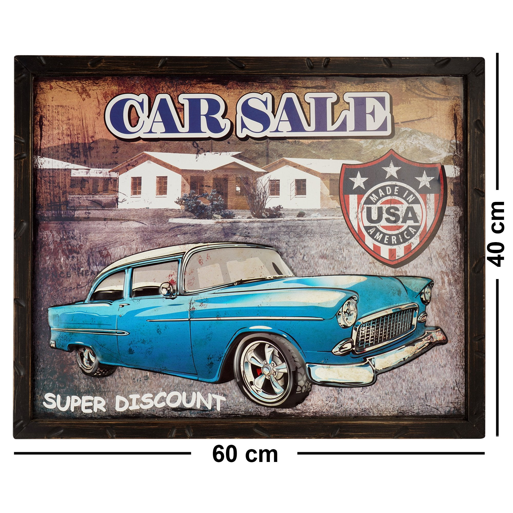 Car Sale Wall Plaque