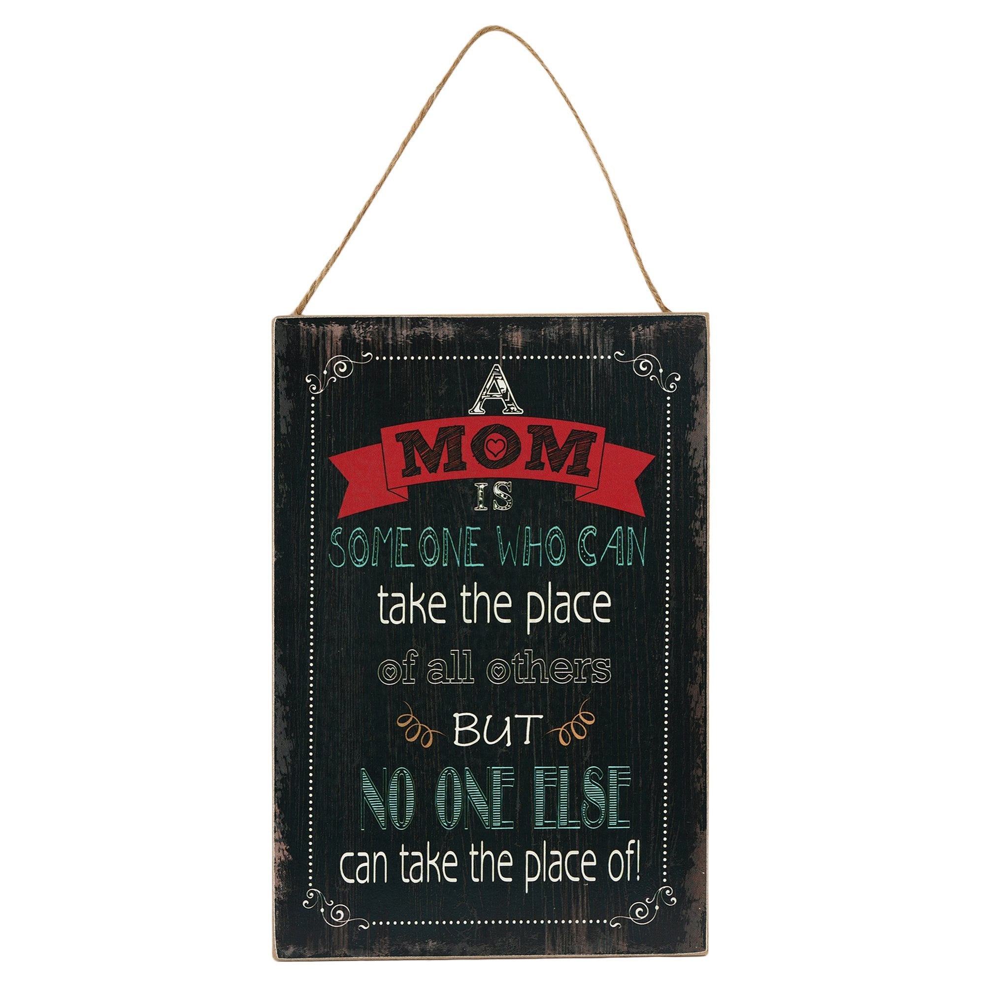 Mom Wall Plaque - Teak Tale