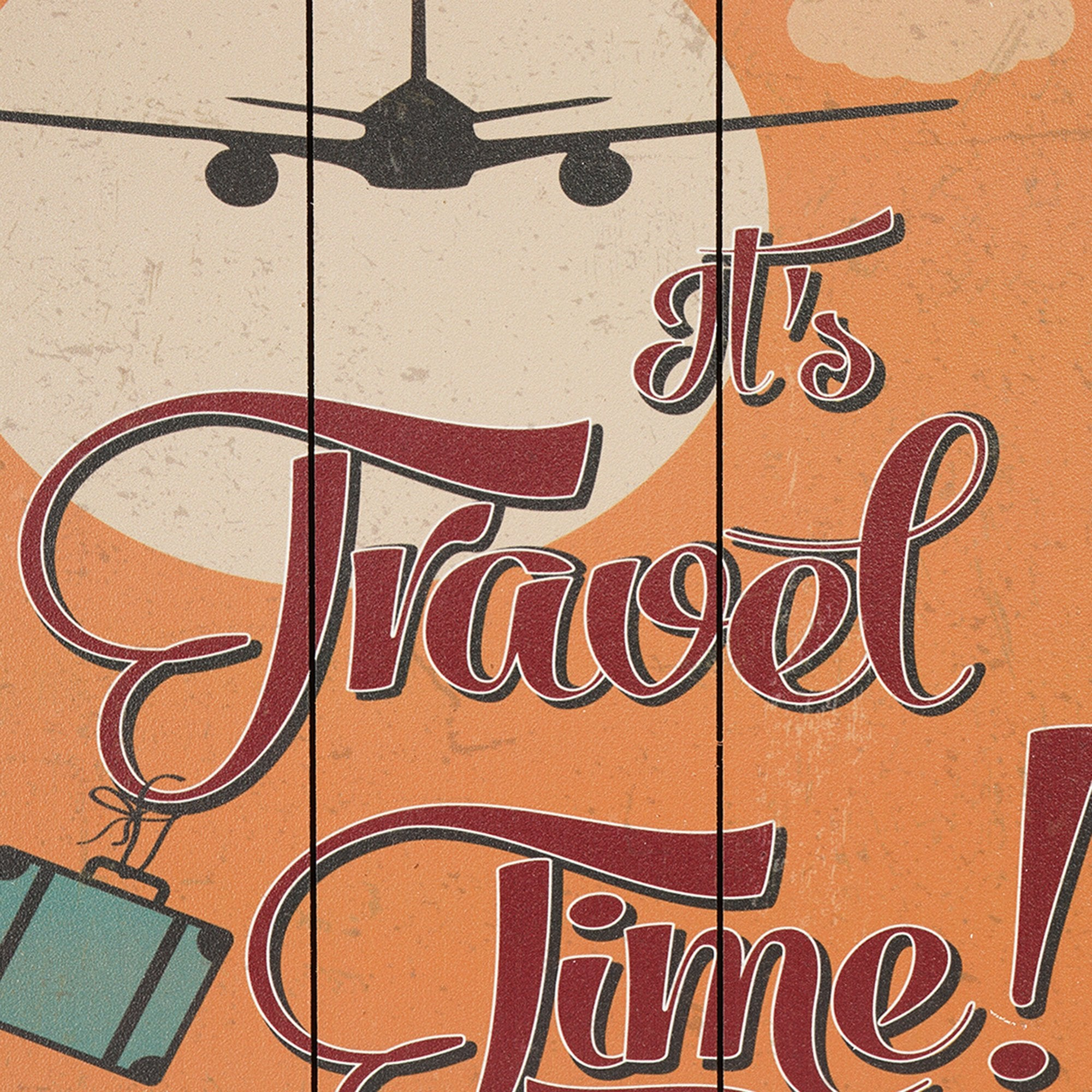 Travel Time Wall Plaque