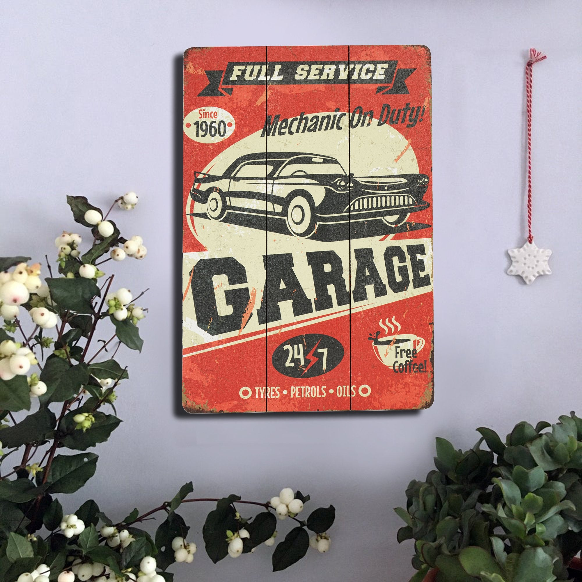 Garage Wall Sign - Teak Tale