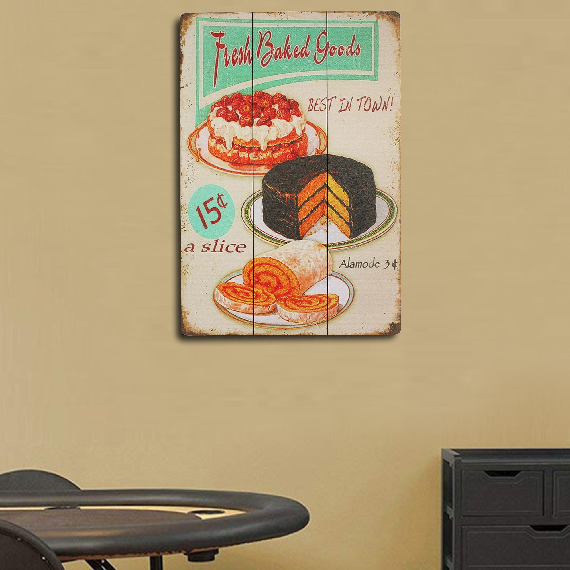 Baked Goods Wall Plaque