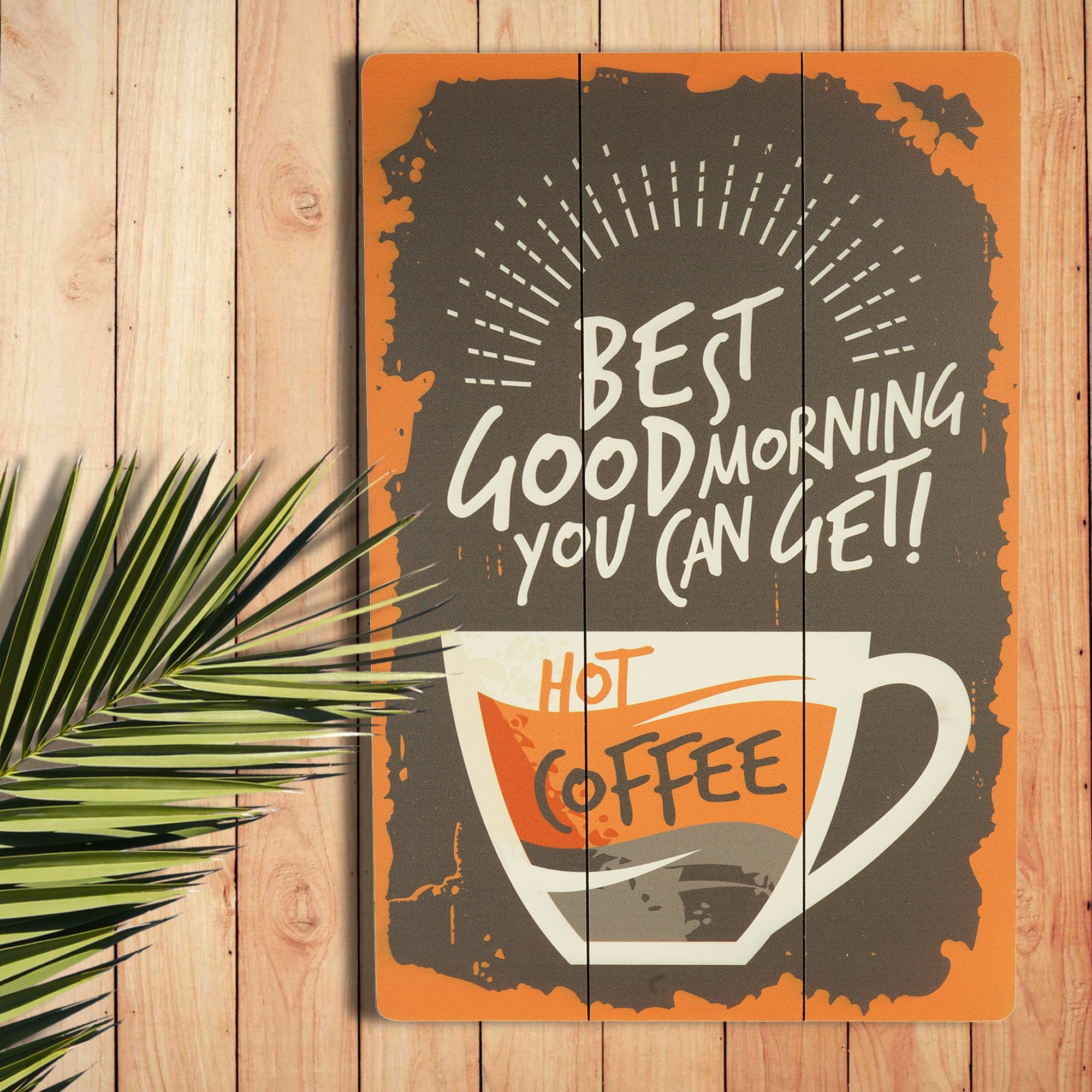 Hot Coffee Wall Plaque