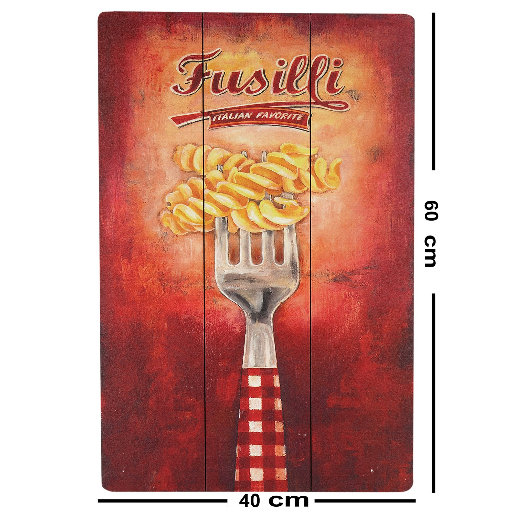 Fusilli Wall Plaque from Teak Tale Home Decors