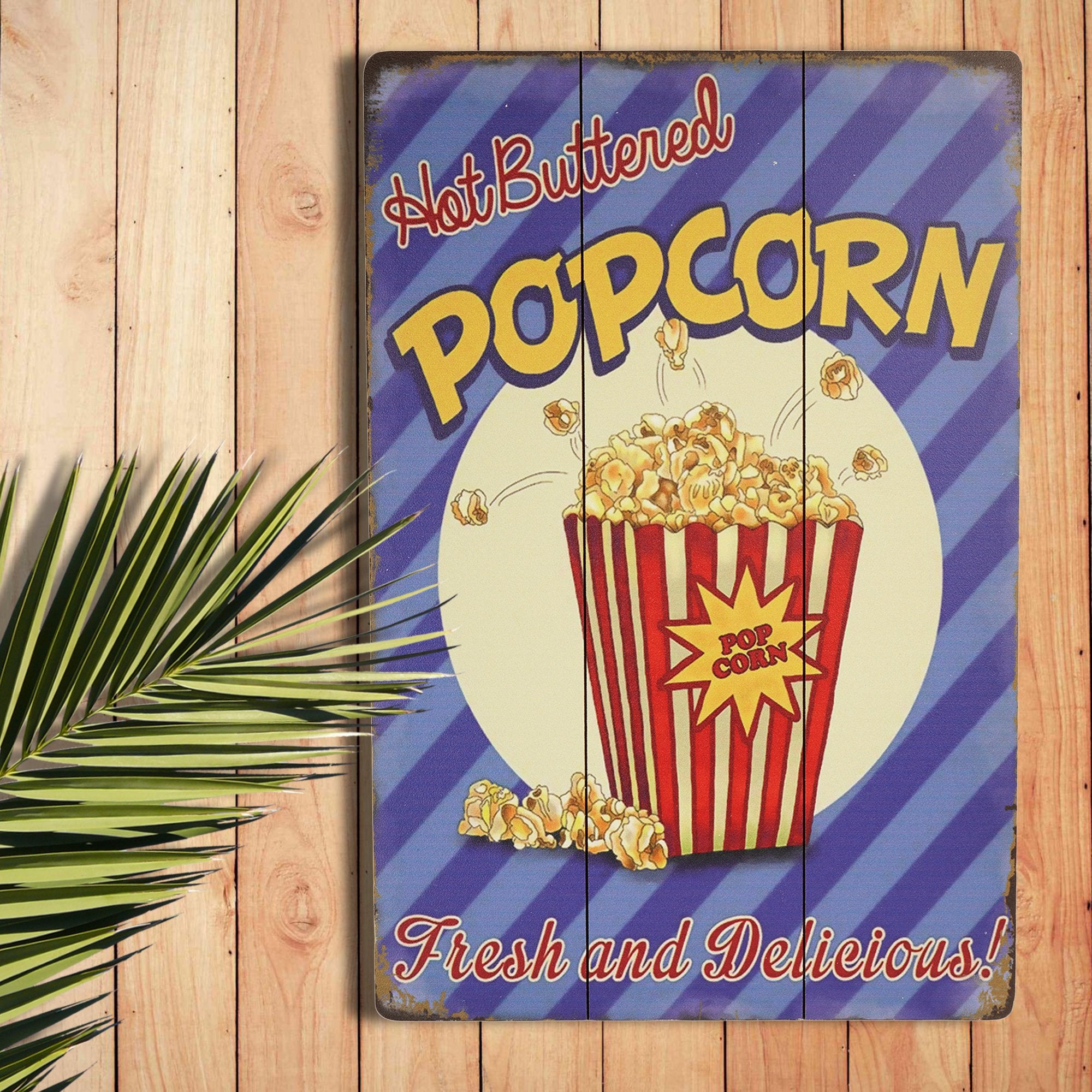 Popcorn Wall Plaque from Teak Tale Home Decors