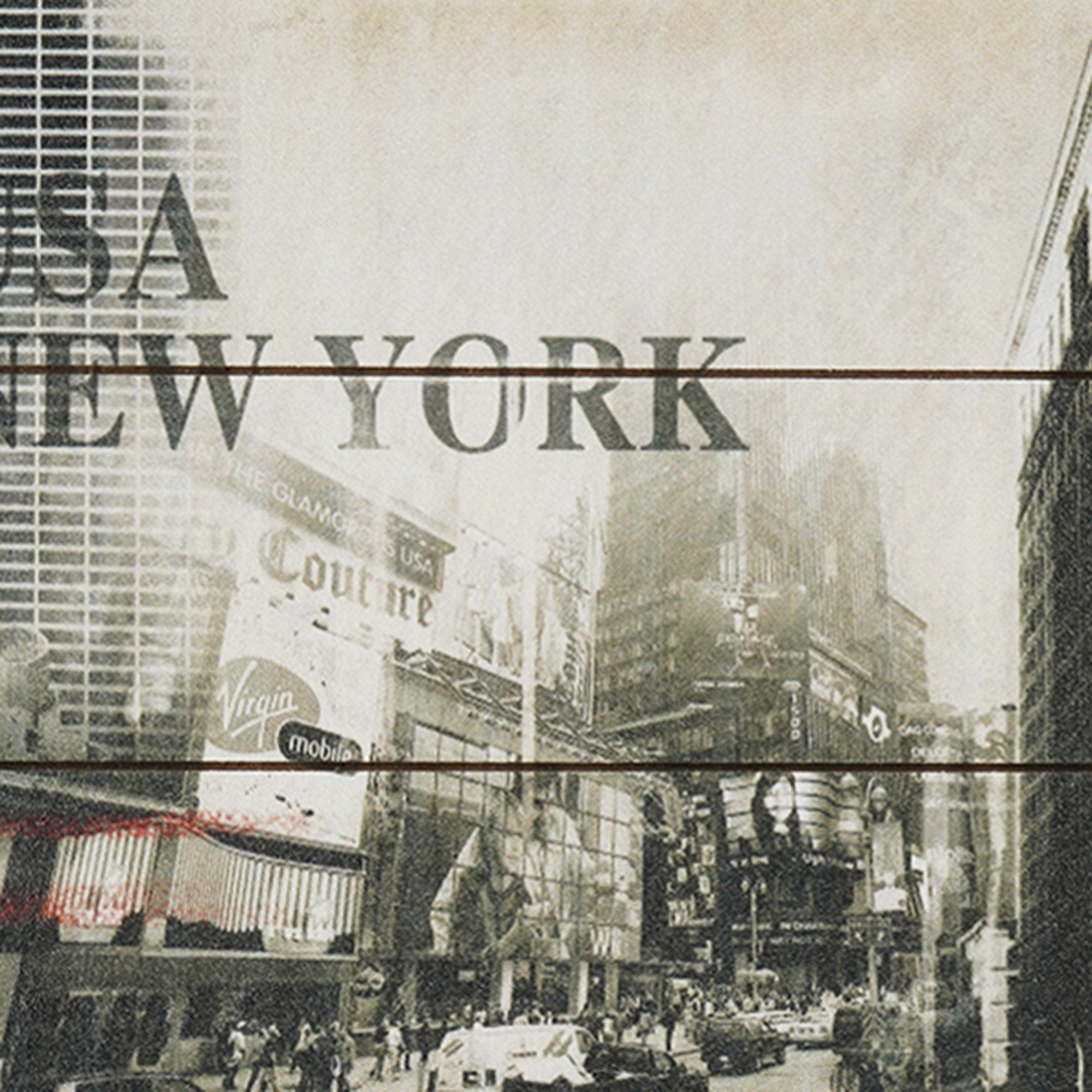New York Icons Wall Plaque from Teaktale Home Decors