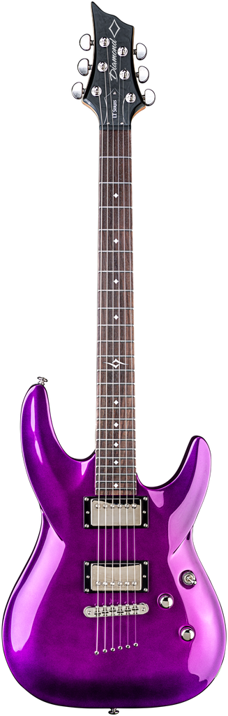 Diamond Barchetta LT Electric Guitar - Lotus Aubergine
