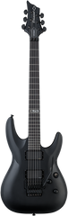 Diamond Barchetta STE-FR Elite Black Electric Guitar - Matte Black
