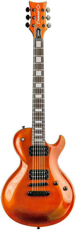 Diamond Bolero AB 3 Electric Guitar - Metallic Burnt Orange