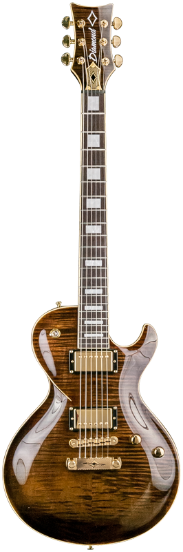 Diamond Bolero FM3 Electric Guitar - Kona Brown