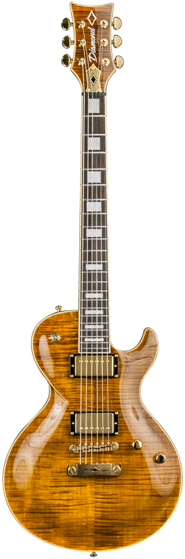 Diamond Bolero FM3 Electric Guitar - Tiger's Eye