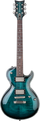 Diamond Bolero FM Plus Electric Guitar - Trans Teal